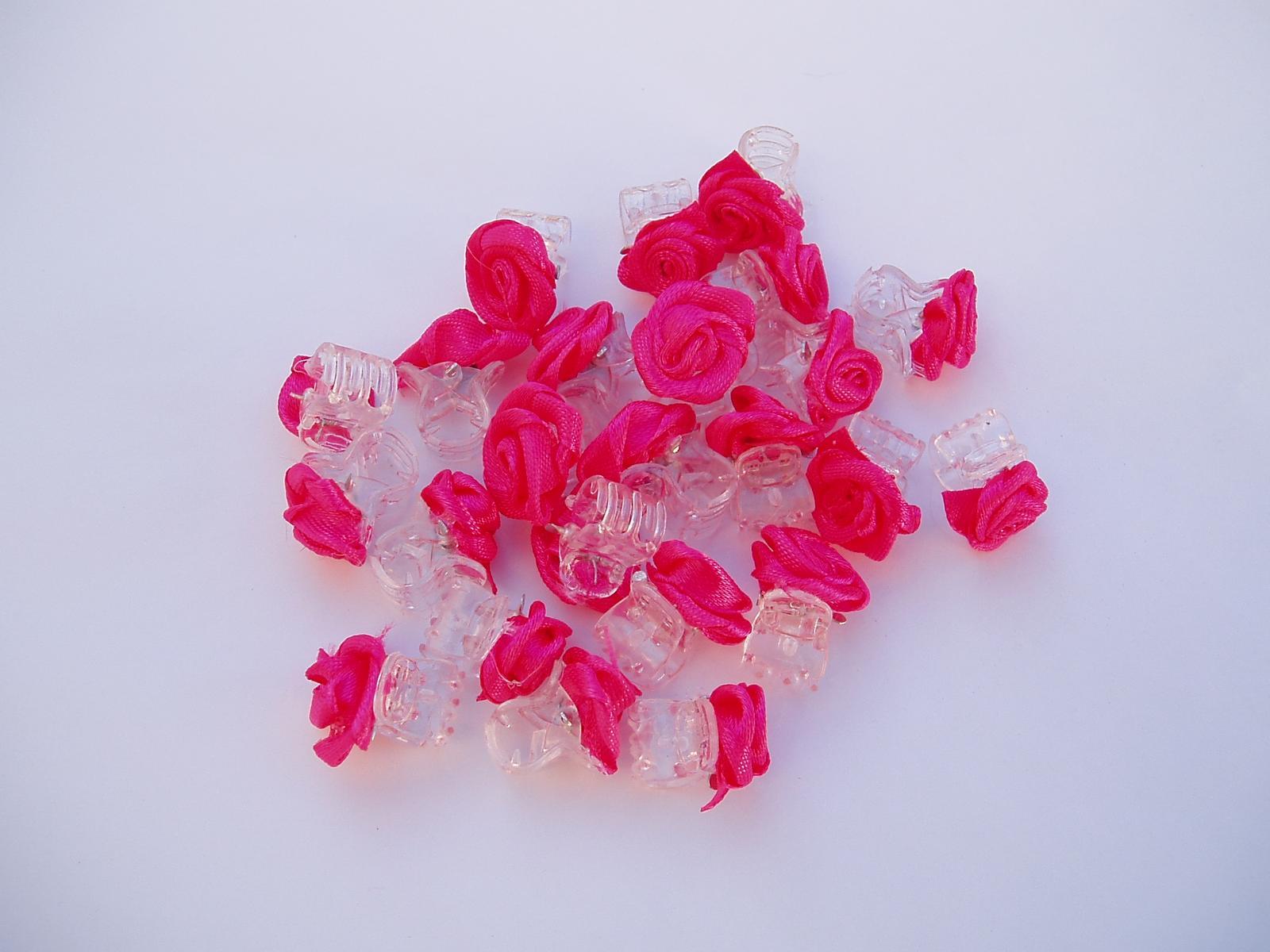 skřipec do vlasů-růžový - Obrázek č. 1