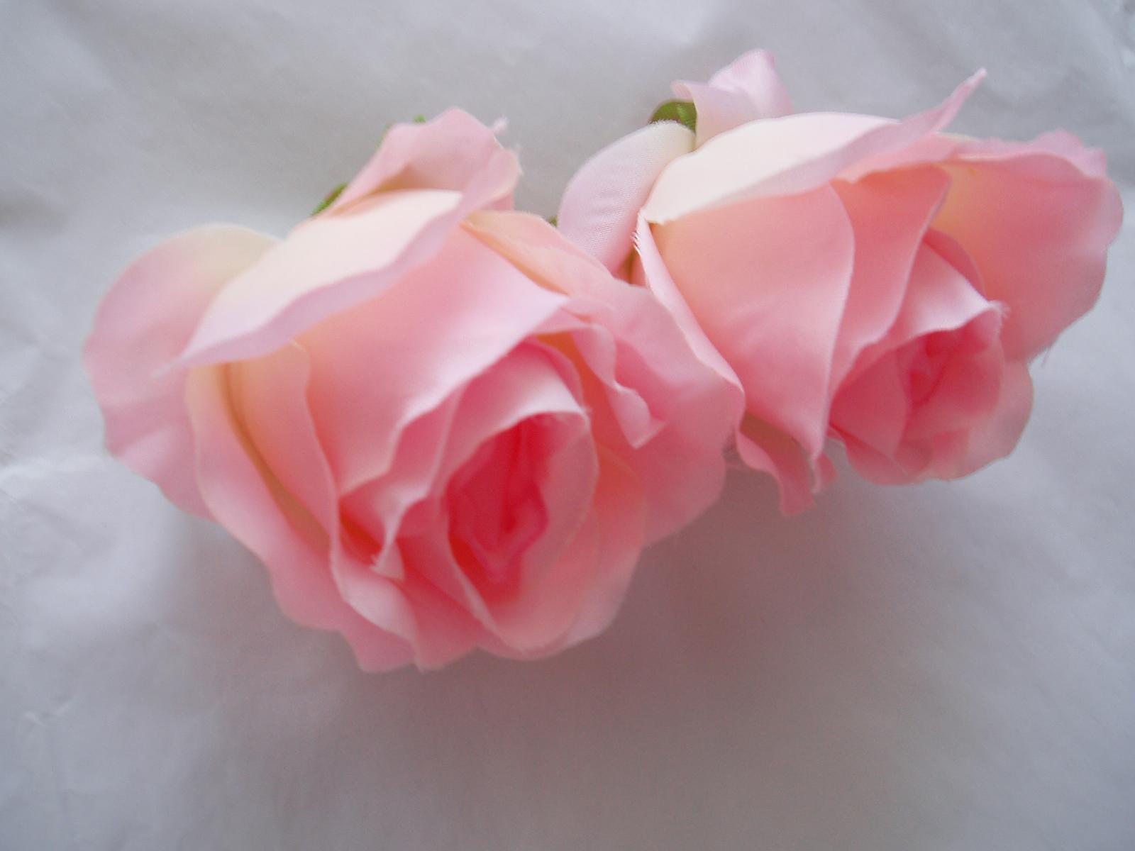 květ růže růžová velká - Obrázek č. 1