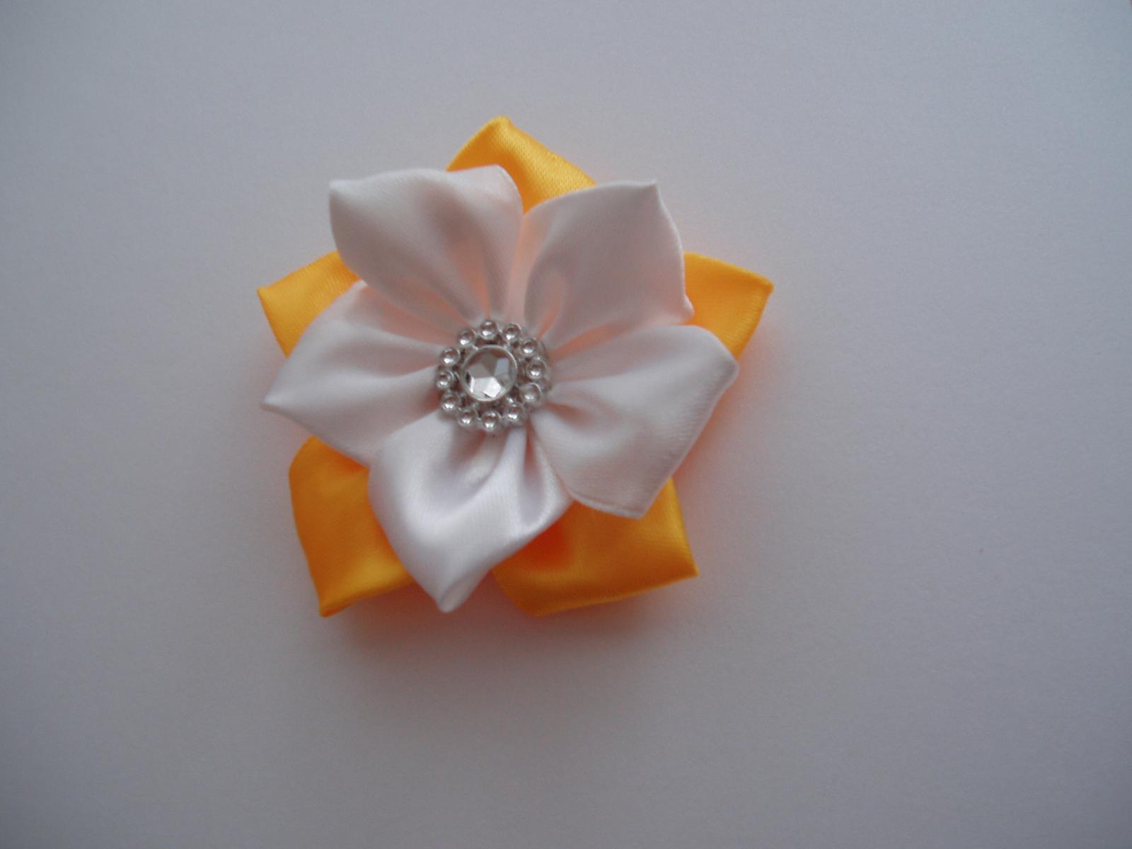 kytička žluto-bílá - Obrázek č. 1