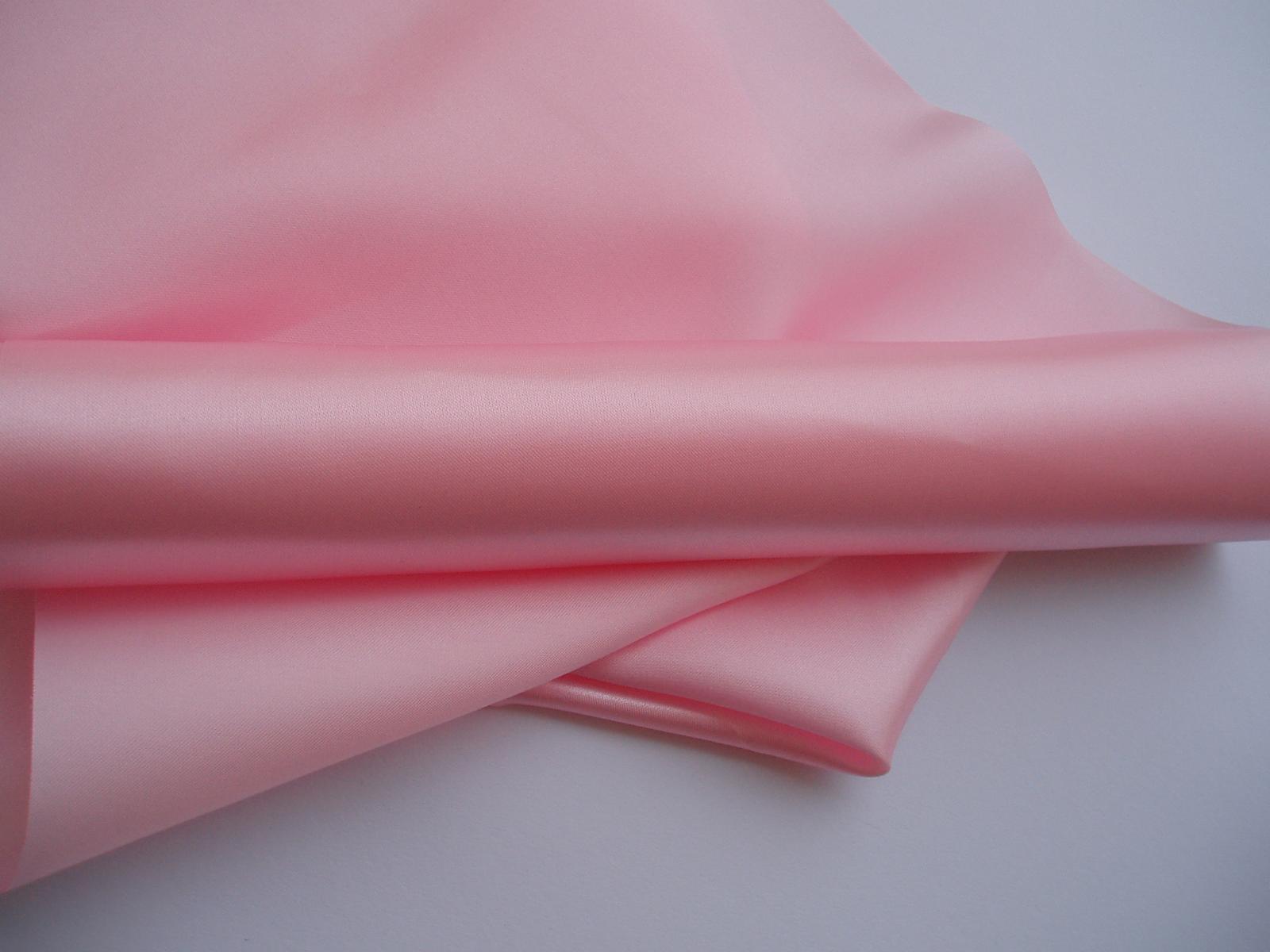satén 36 cm-růžový - Obrázek č. 1