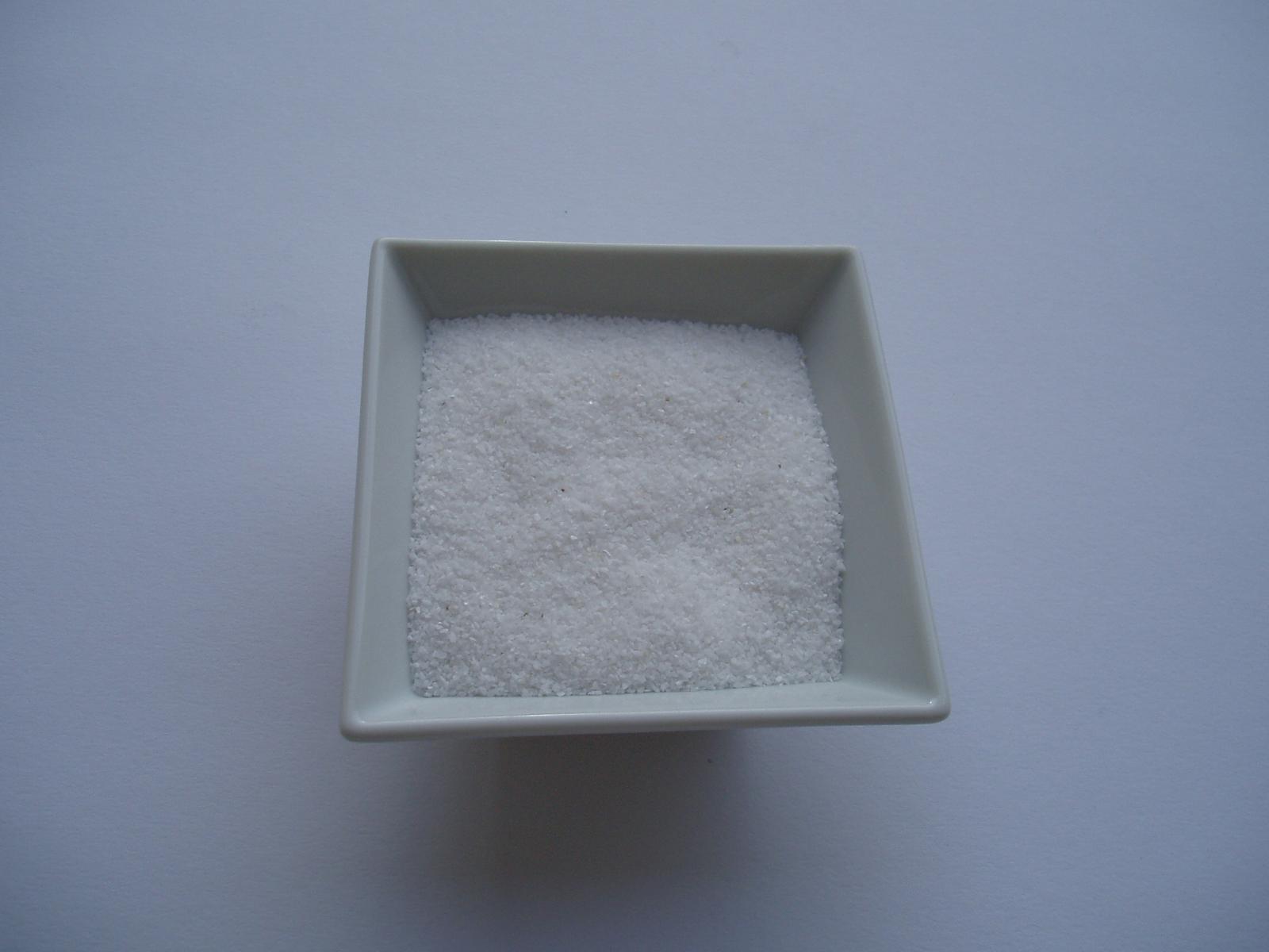 dekorační písek-bílý - Obrázek č. 1