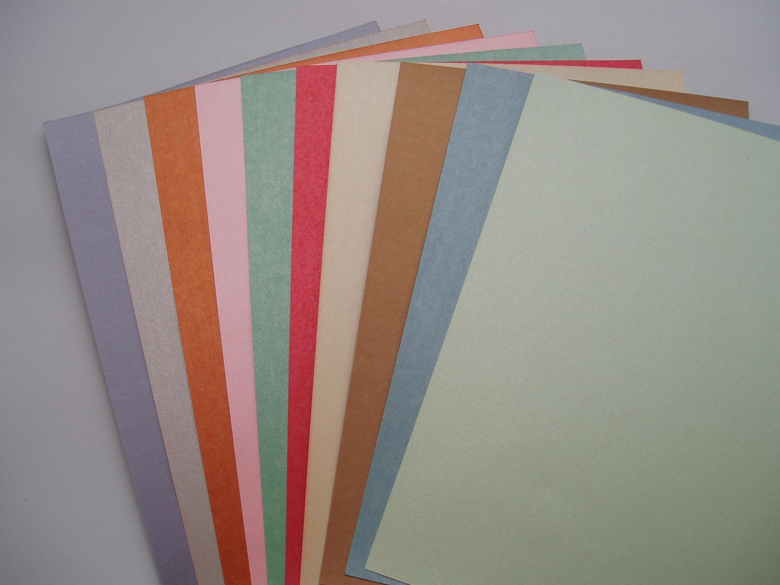perleťový karton A 4 - Obrázek č. 1