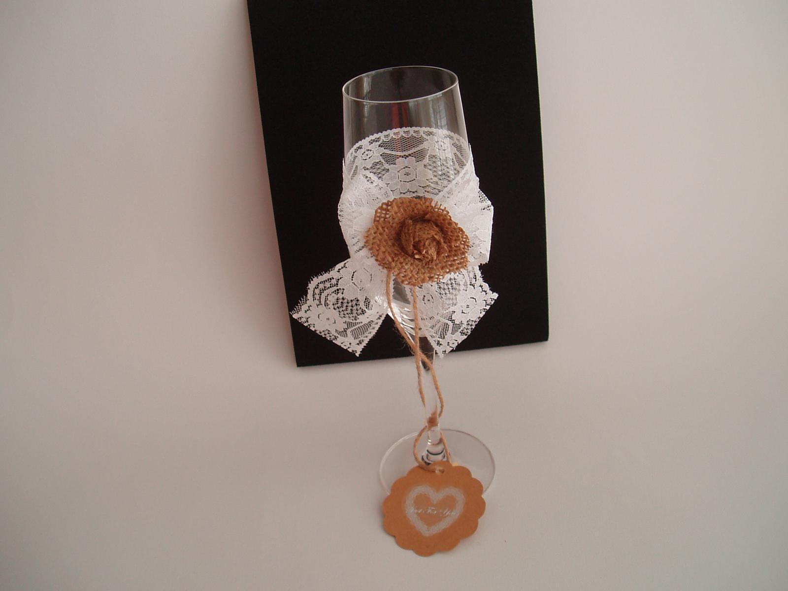 svatební skleničky - Obrázek č. 3