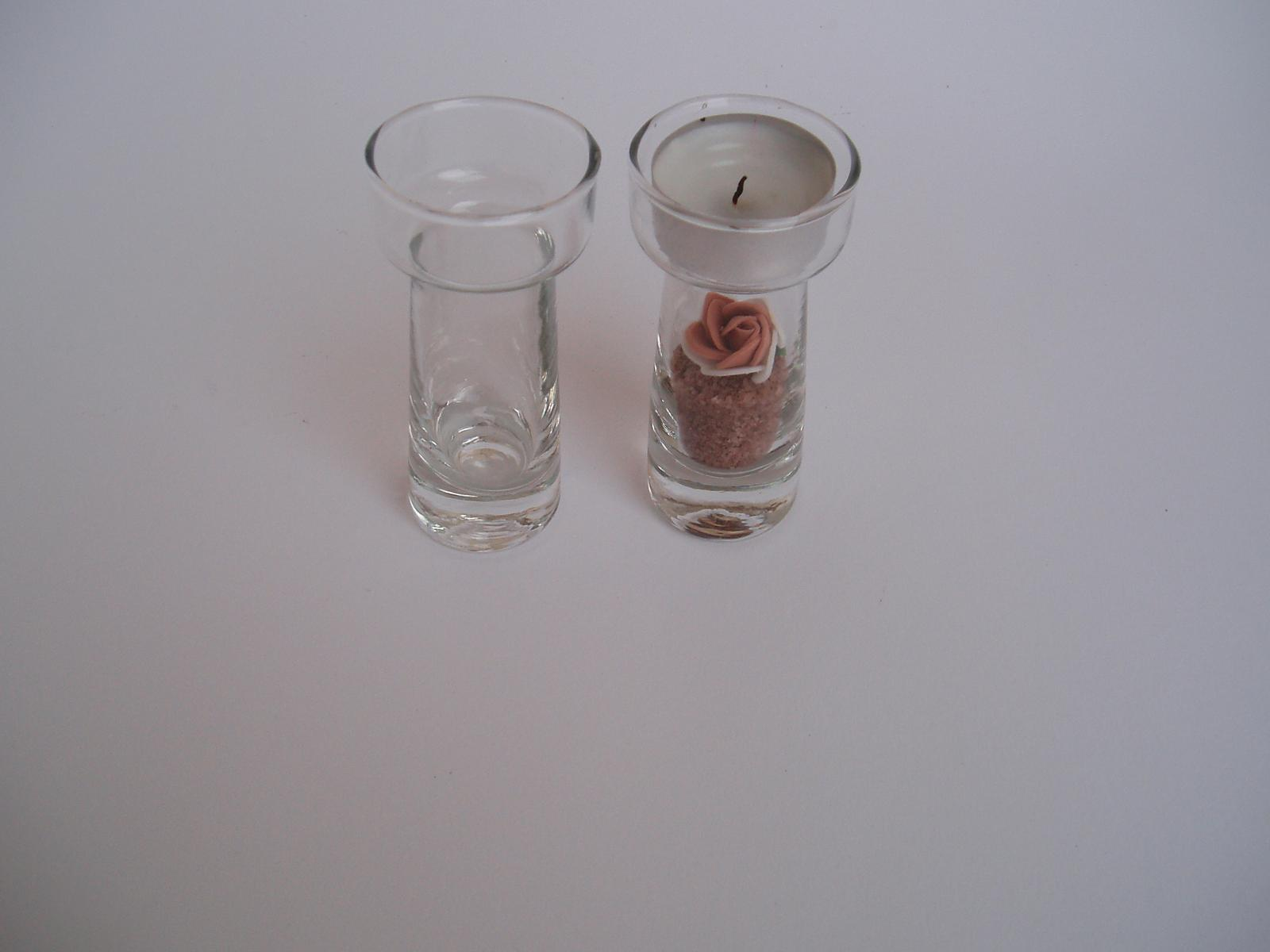 skleněný svícen - Obrázek č. 1