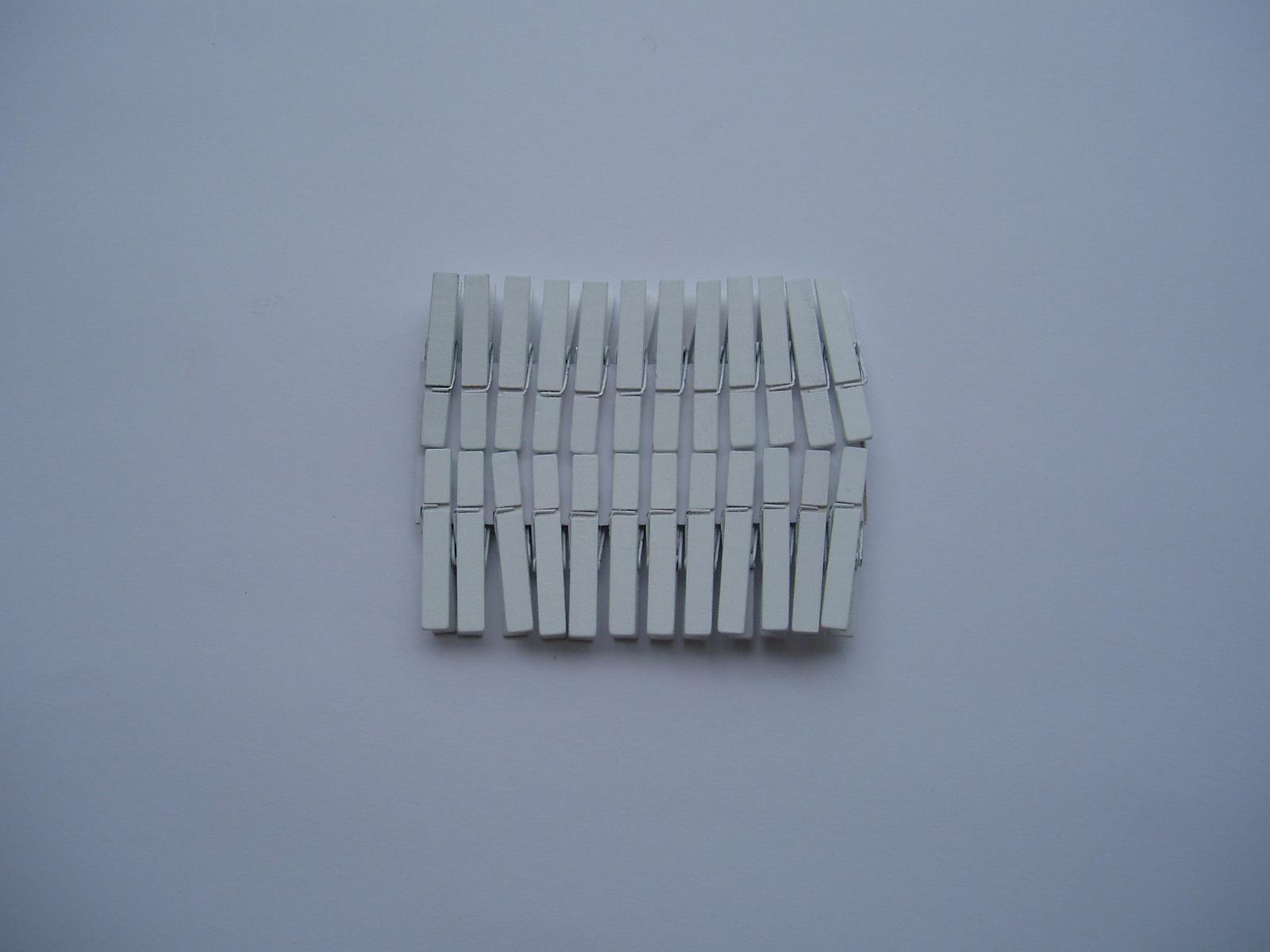 kolíček bílý - Obrázek č. 1