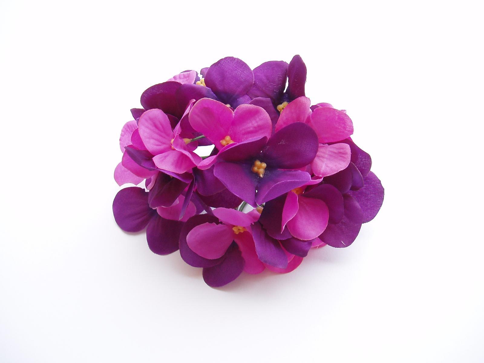 květ hortenzie-fialový - Obrázek č. 1