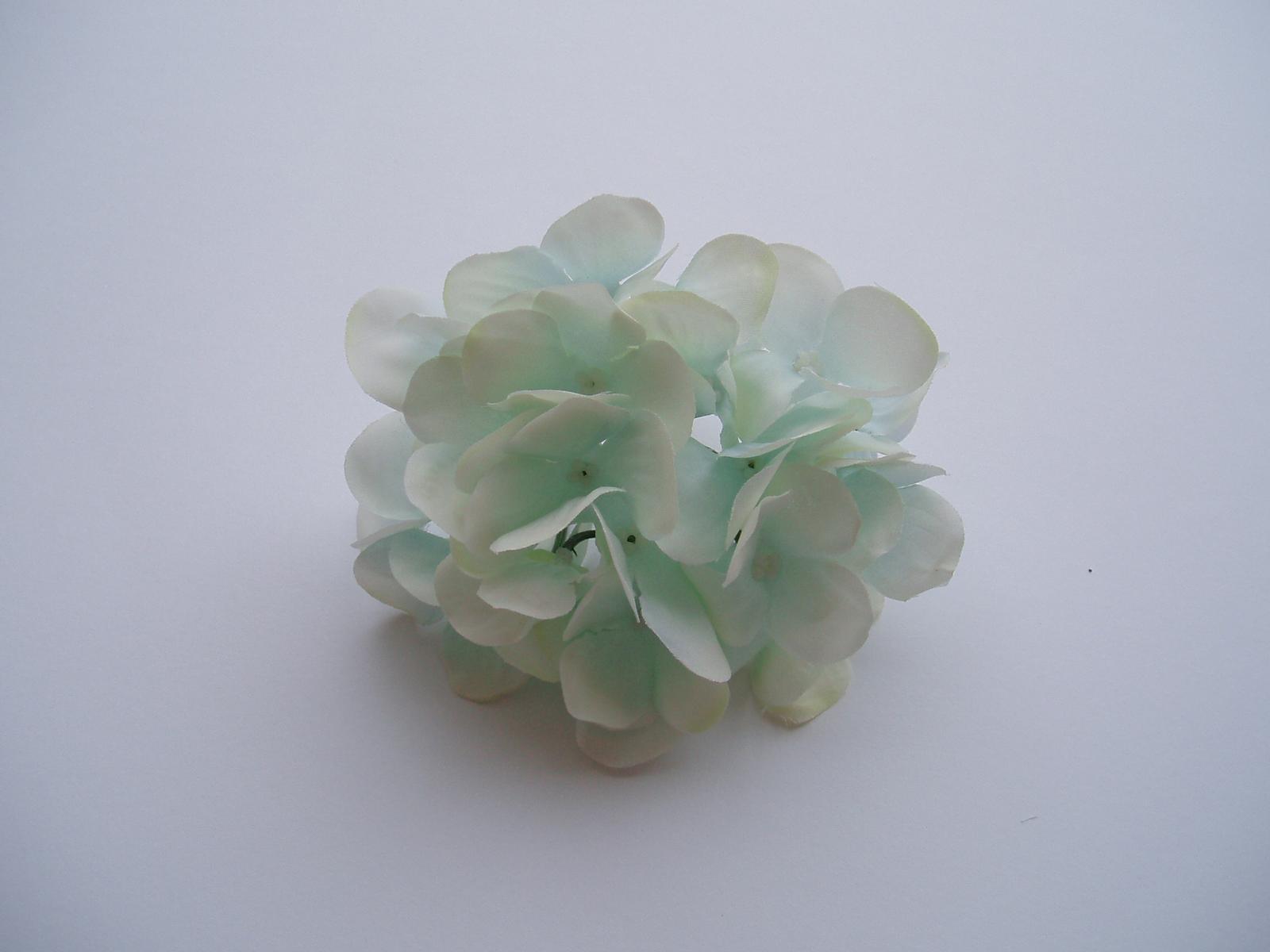 květ hortenzie-světle modrý - Obrázek č. 1