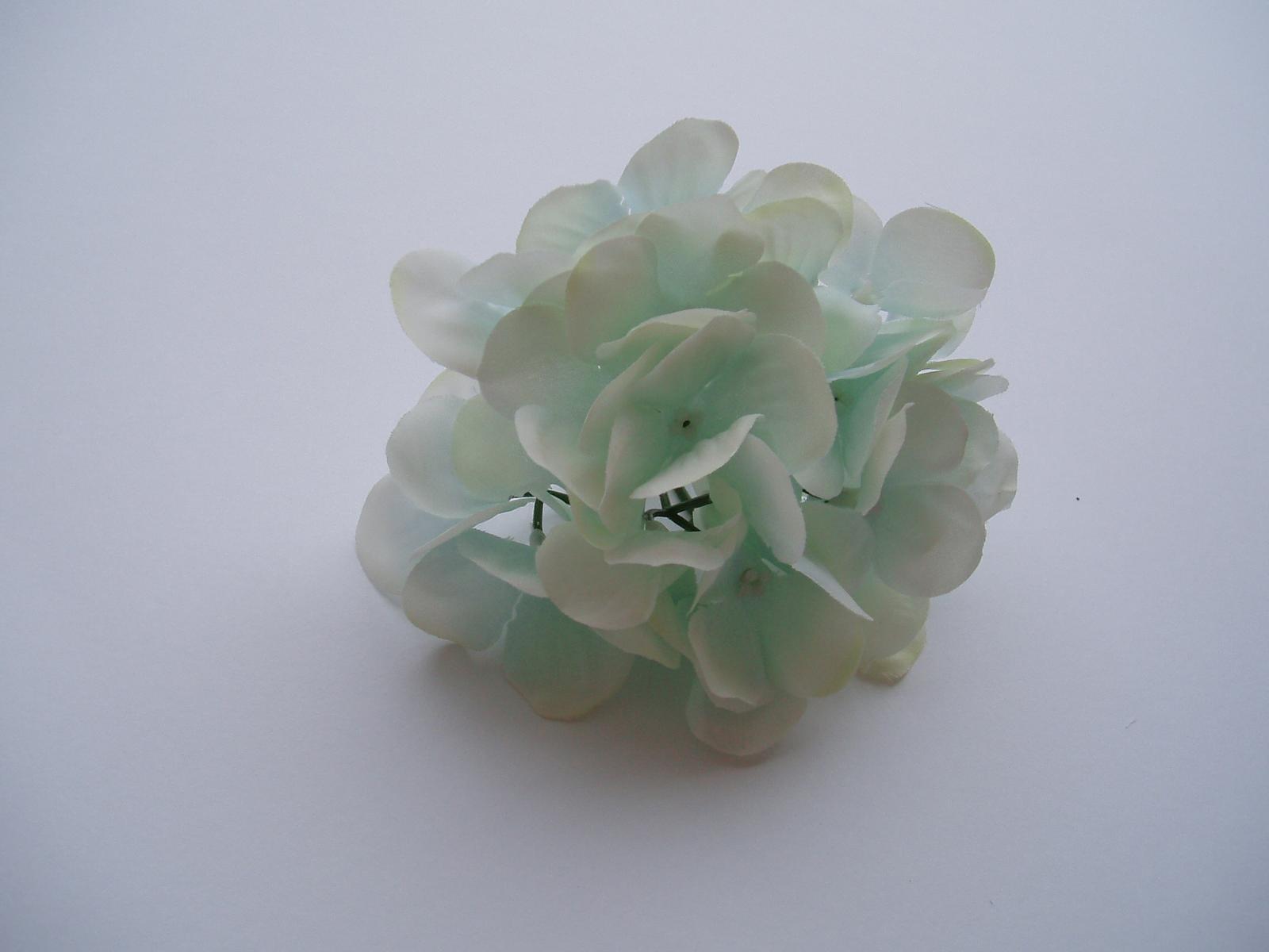 květ hortenzie-světle modrý - Obrázek č. 2