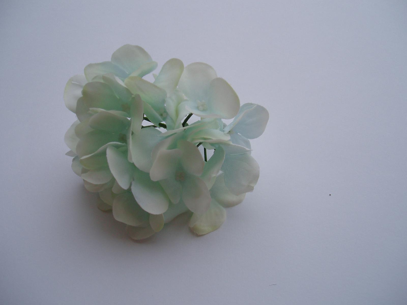 květ hortenzie-světle modrý - Obrázek č. 3