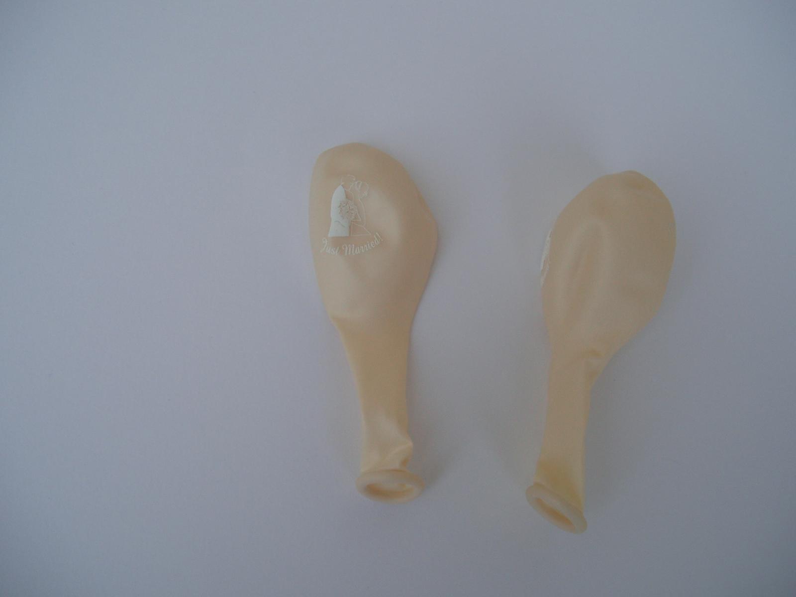 balónek - ženich a nevěsta - Obrázek č. 2