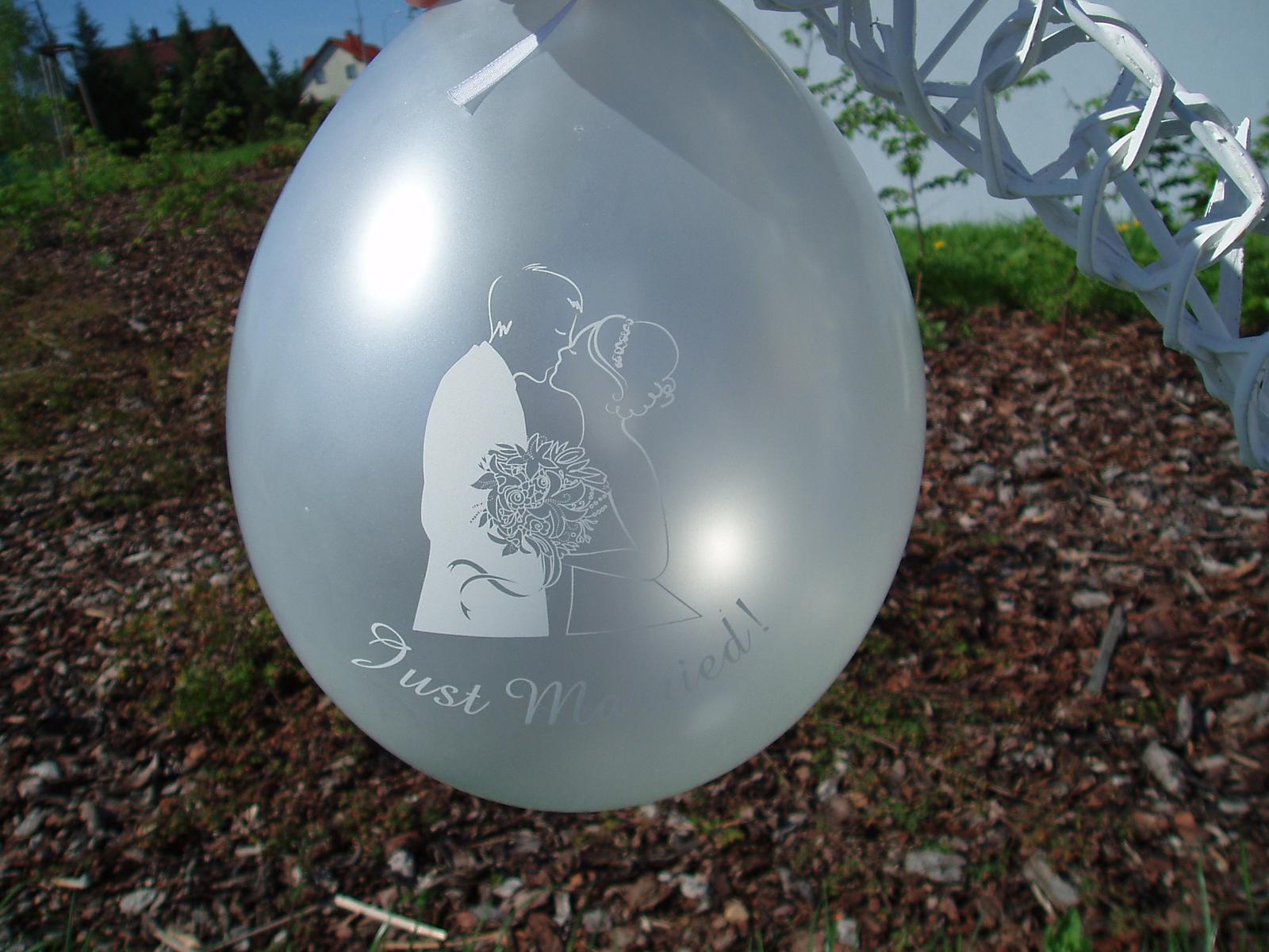 balónek - ženich a nevěsta - Obrázek č. 4