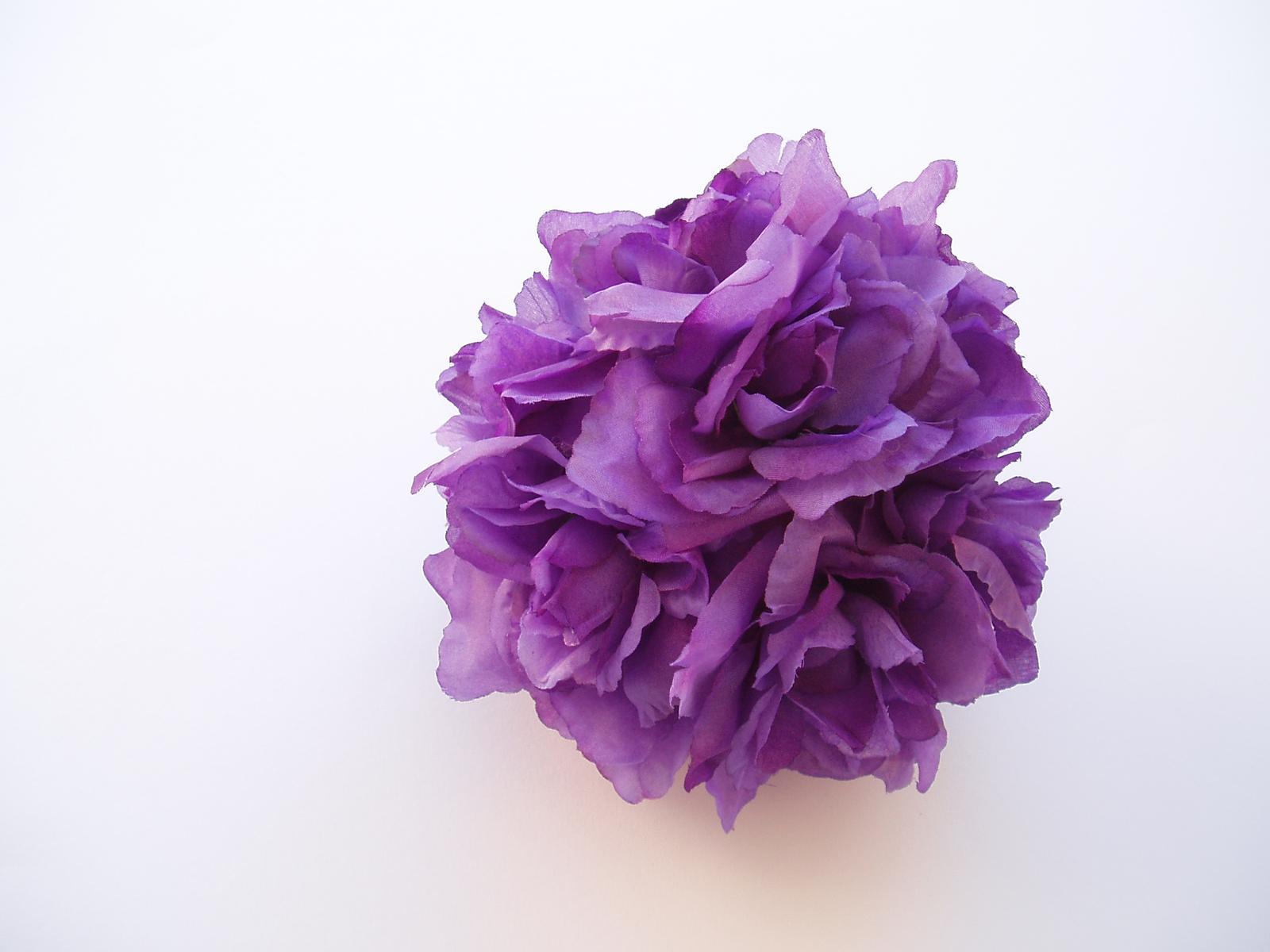 dekorační koule-fialová - Obrázek č. 1
