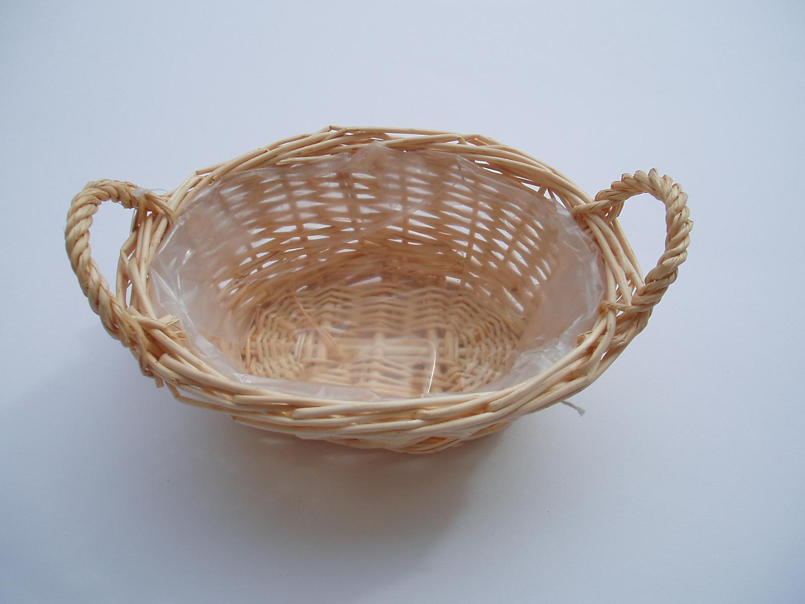 oválný košík - Obrázek č. 1