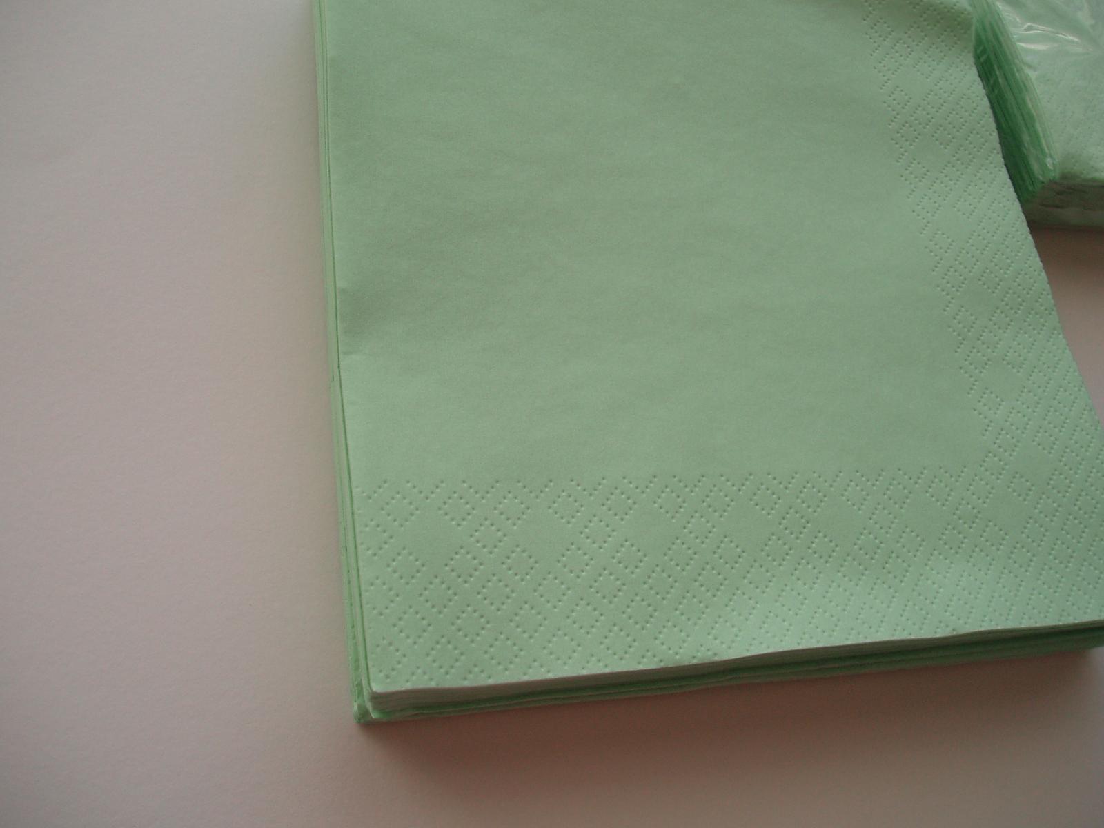 papírové ubrousky-mentolové - Obrázek č. 1