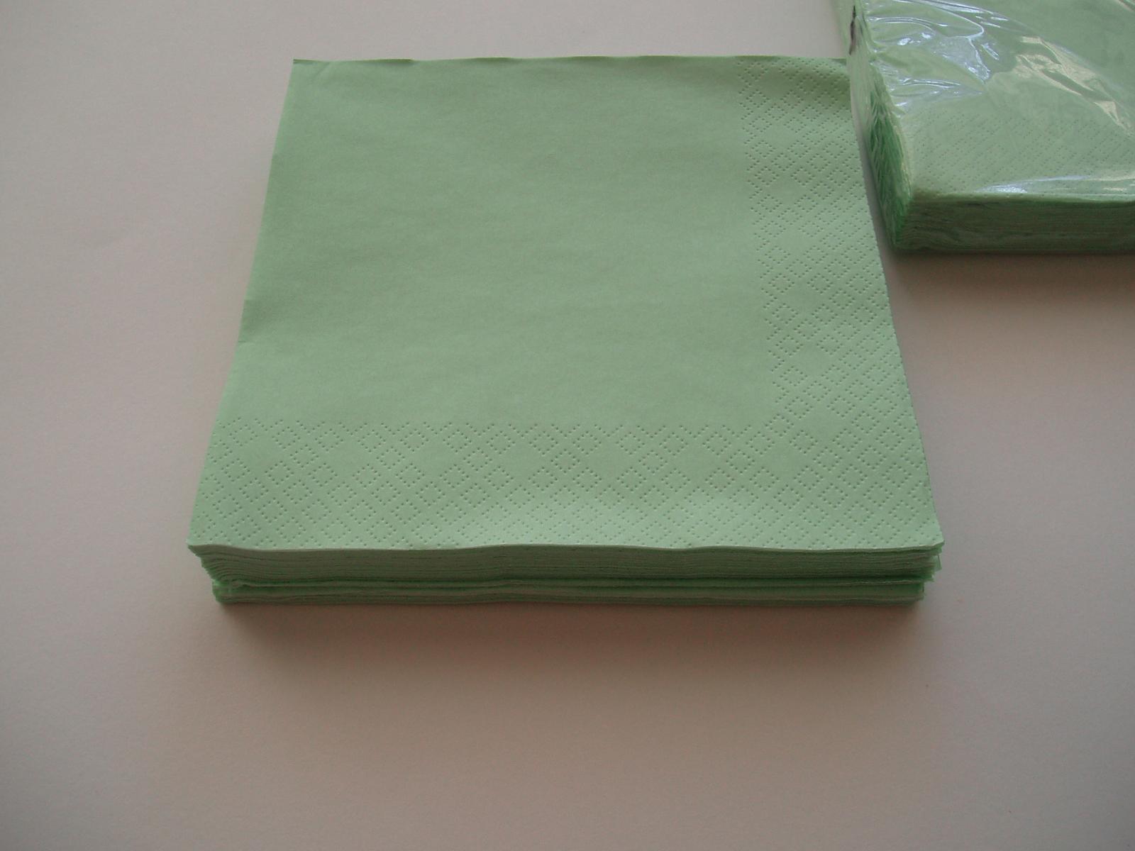 papírové ubrousky-mentolové - Obrázek č. 2