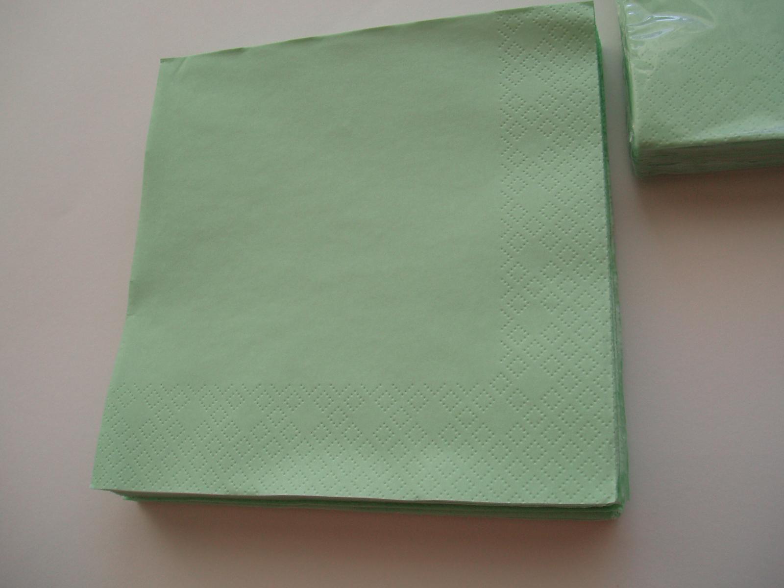 papírové ubrousky-mentolové - Obrázek č. 3