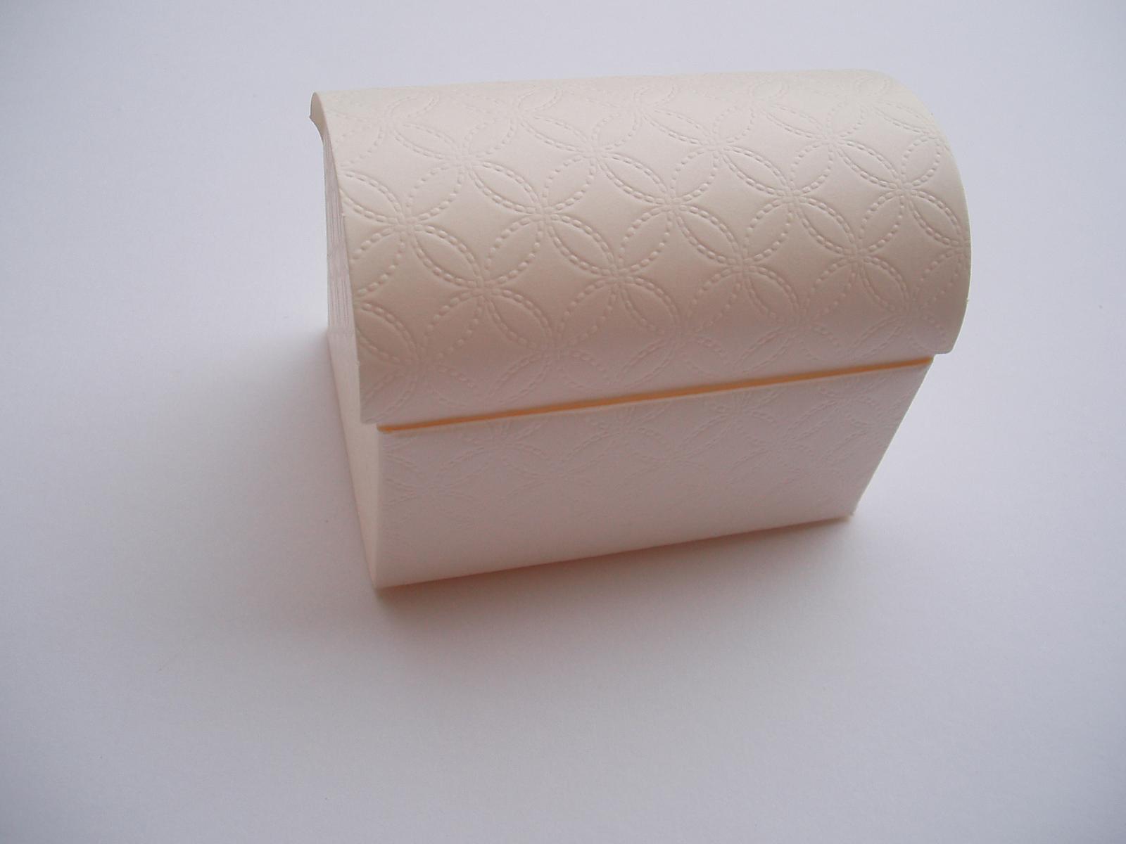 krabička bílá - Obrázek č. 1