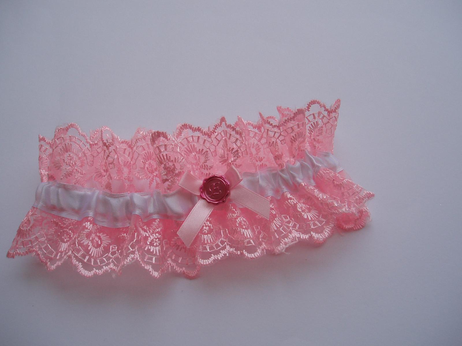 růžový podvazek - Obrázek č. 4