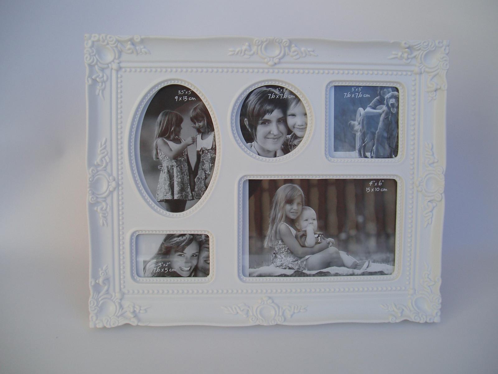 zdobený foto rámeček - Obrázek č. 1