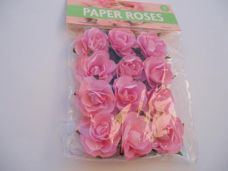papírové růžičky-růžové - Obrázek č. 1
