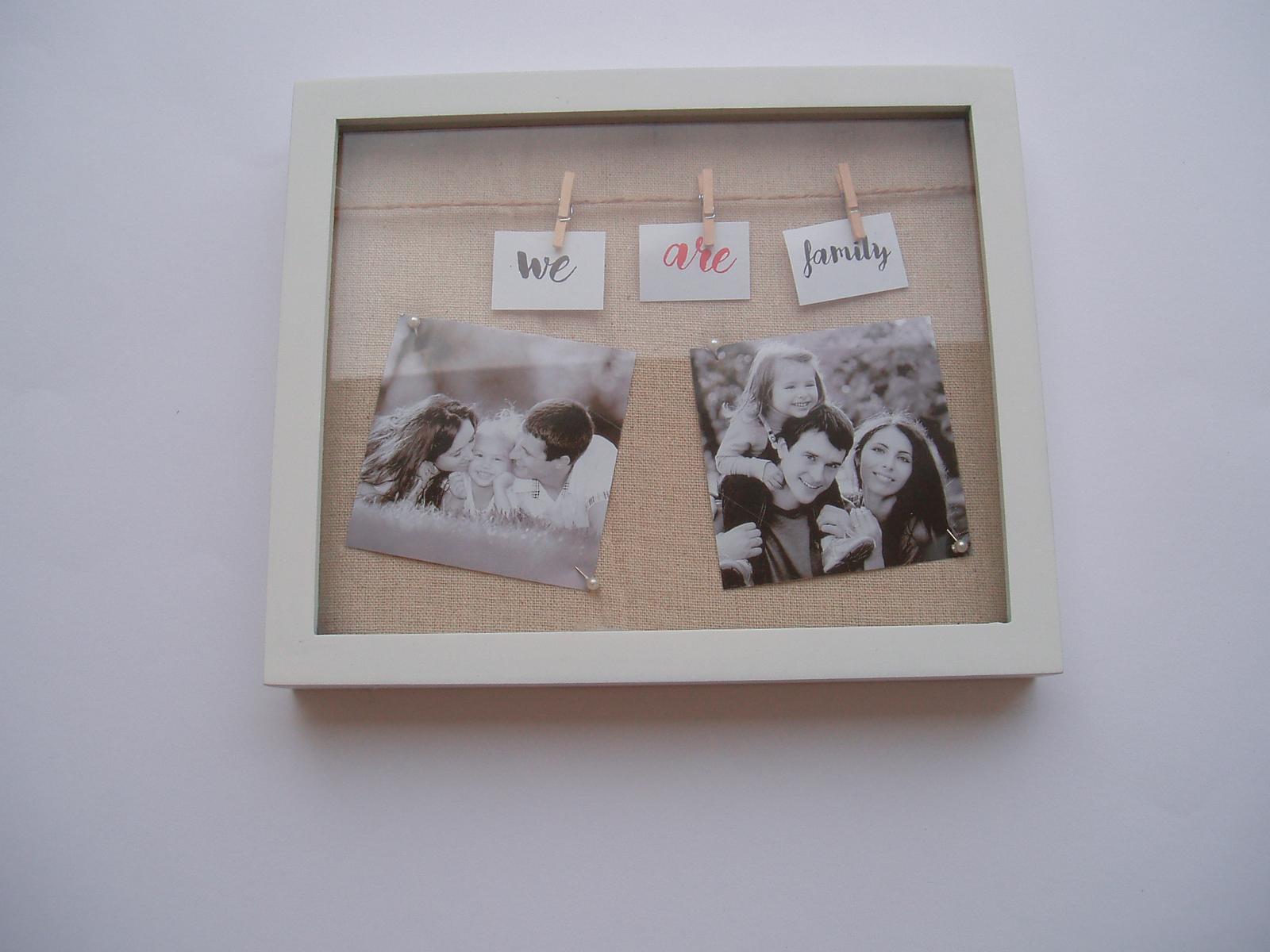 fotorámeček s kolíčky - Obrázek č. 1
