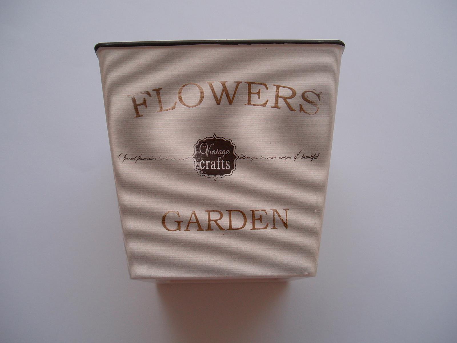 ozdobný květináč č.3 - Obrázek č. 1