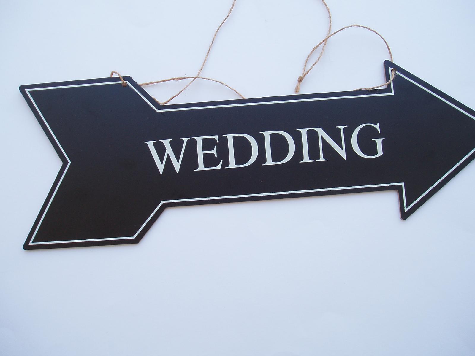 směrovka svatba - Obrázek č. 1