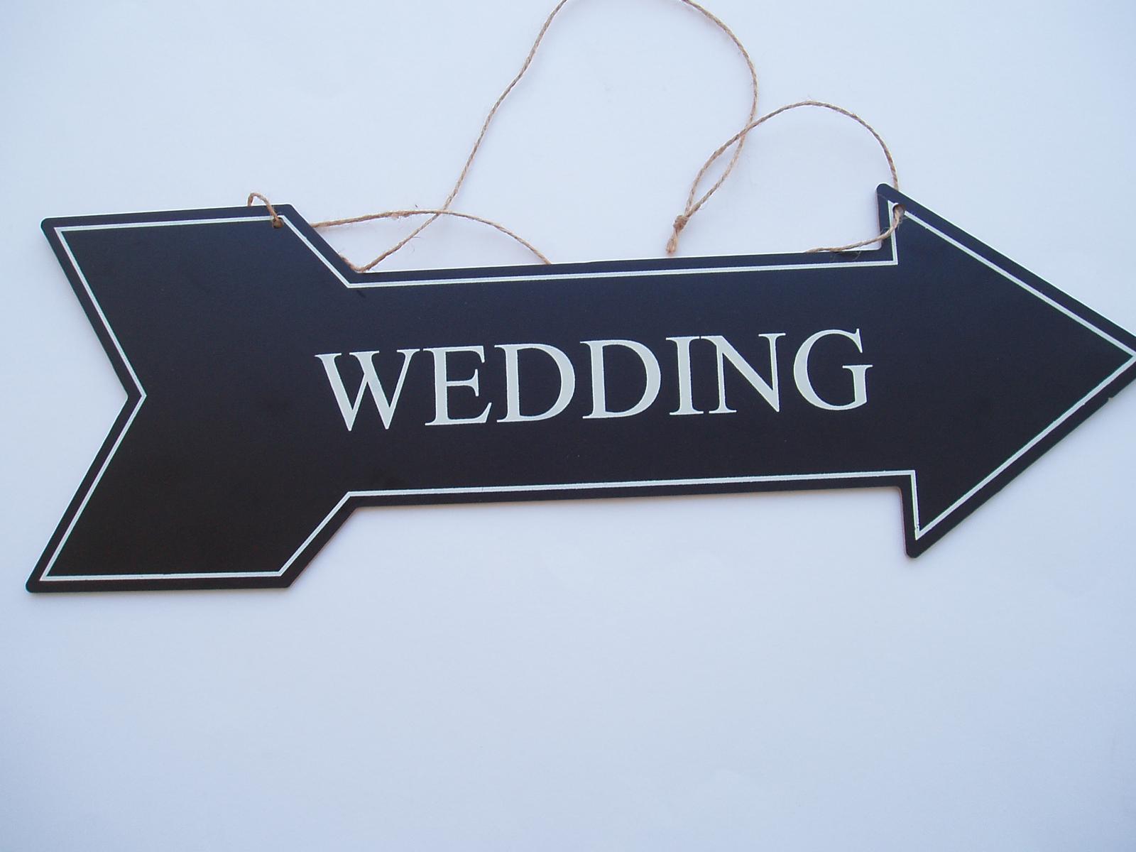 směrovka svatba - Obrázek č. 2