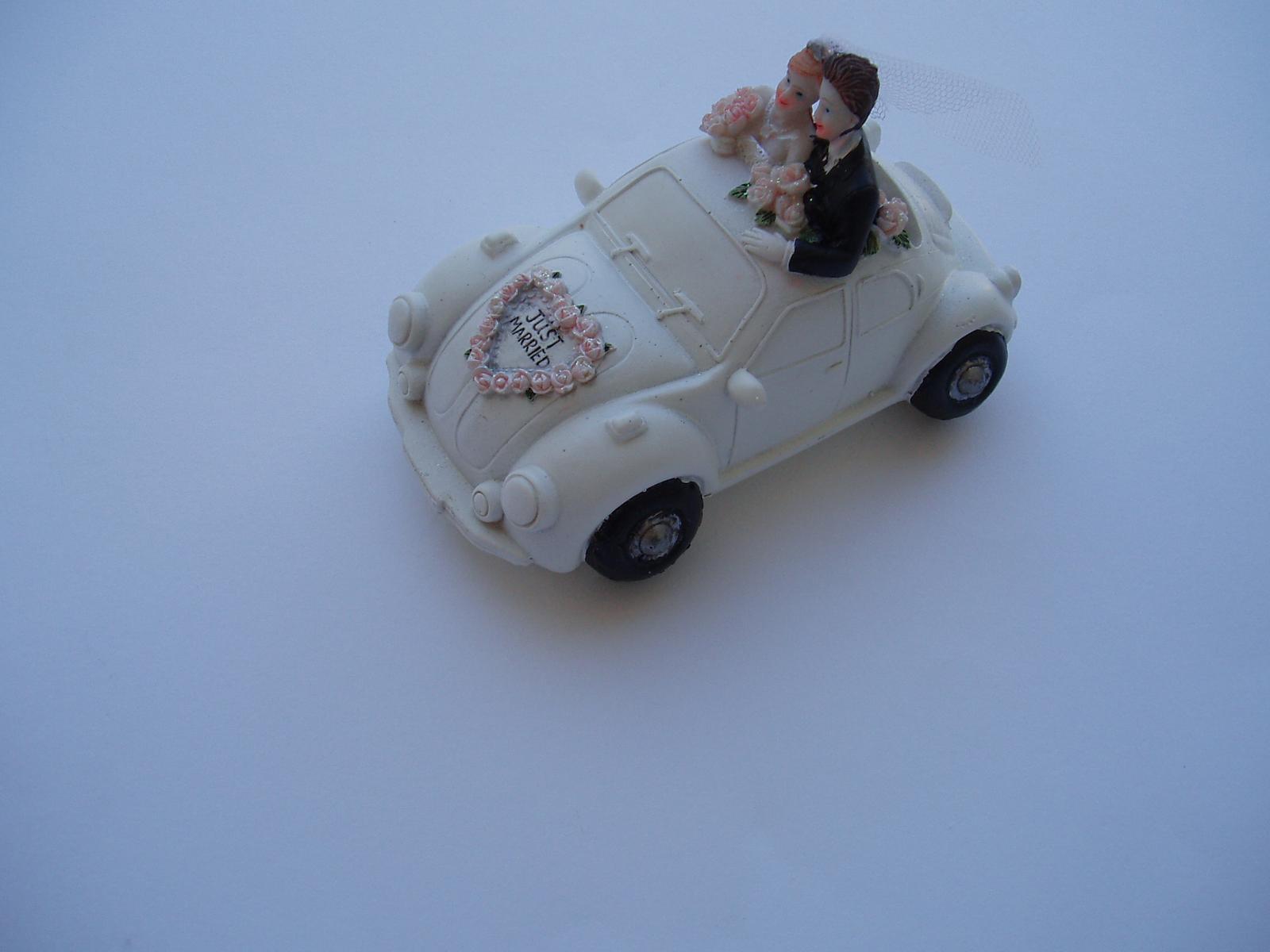 svatební pokladnička-auto - Obrázek č. 1