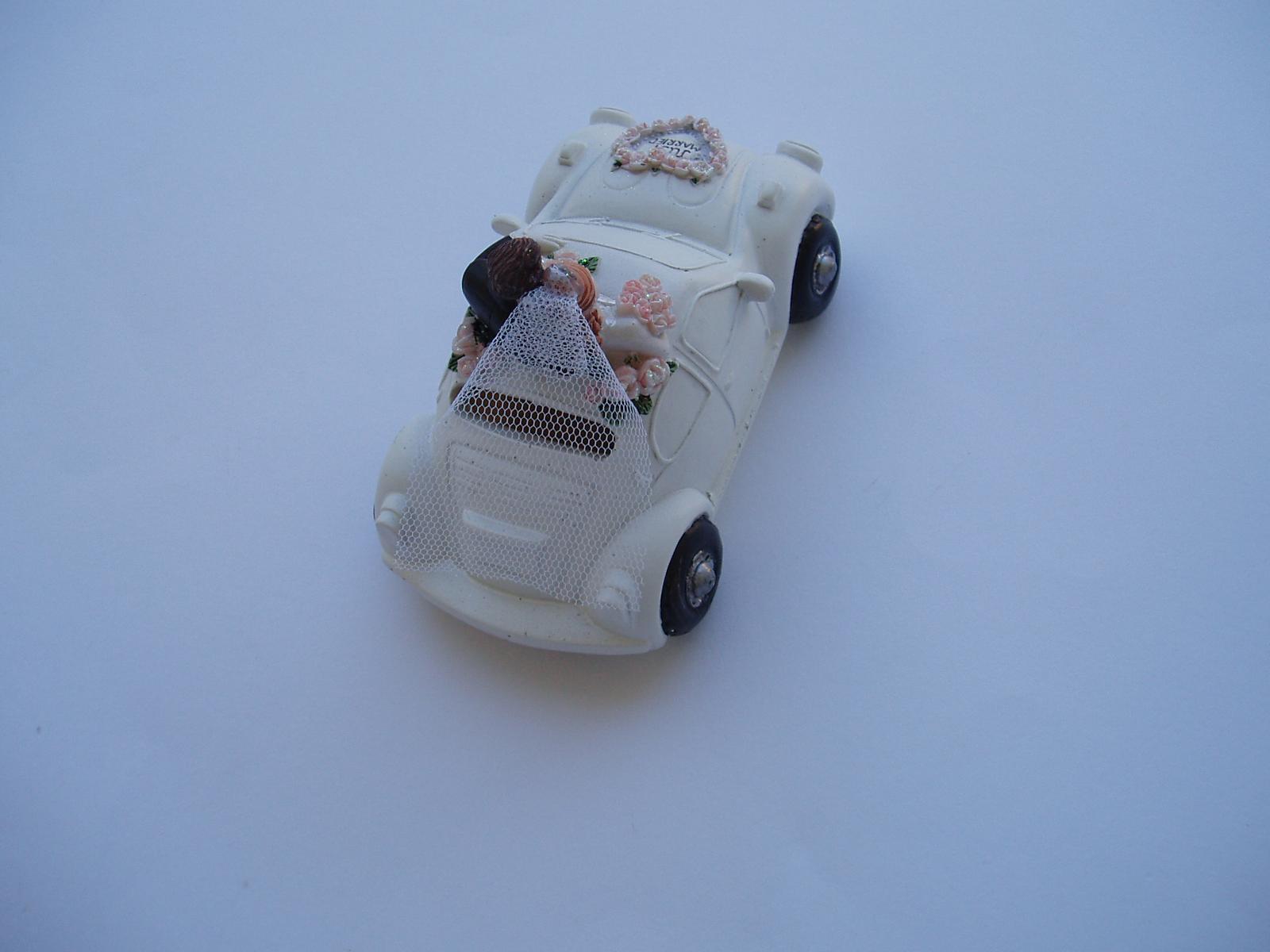 svatební pokladnička-auto - Obrázek č. 2