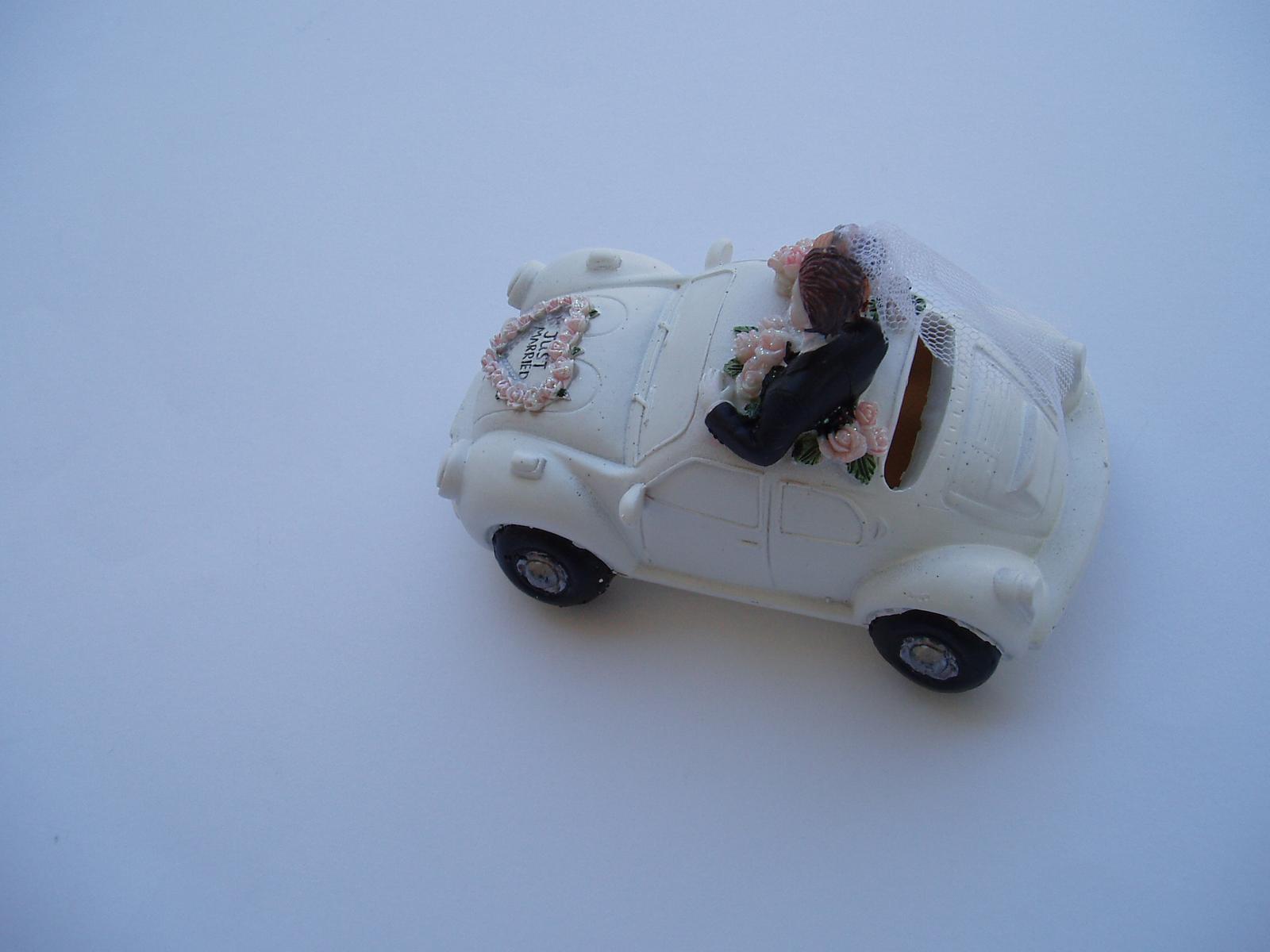 svatební pokladnička-auto - Obrázek č. 3