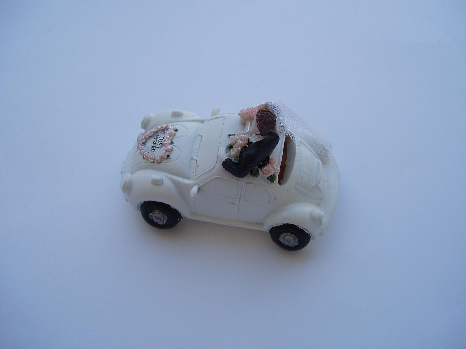 svatební pokladnička-auto - Obrázek č. 4