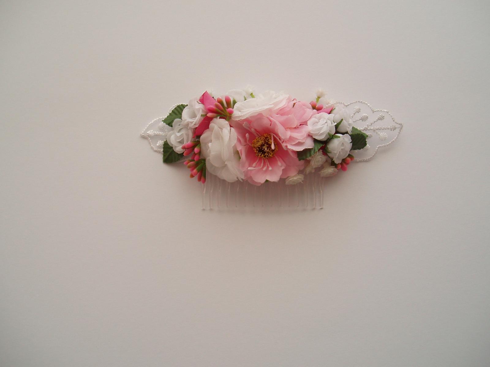 květinový hřebínek - Obrázek č. 3