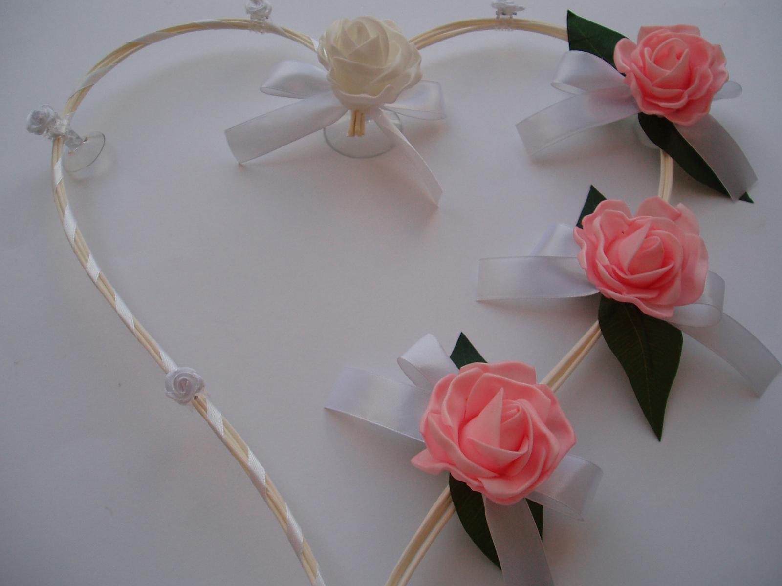 srdce z pedigu-růžové - Obrázek č. 1