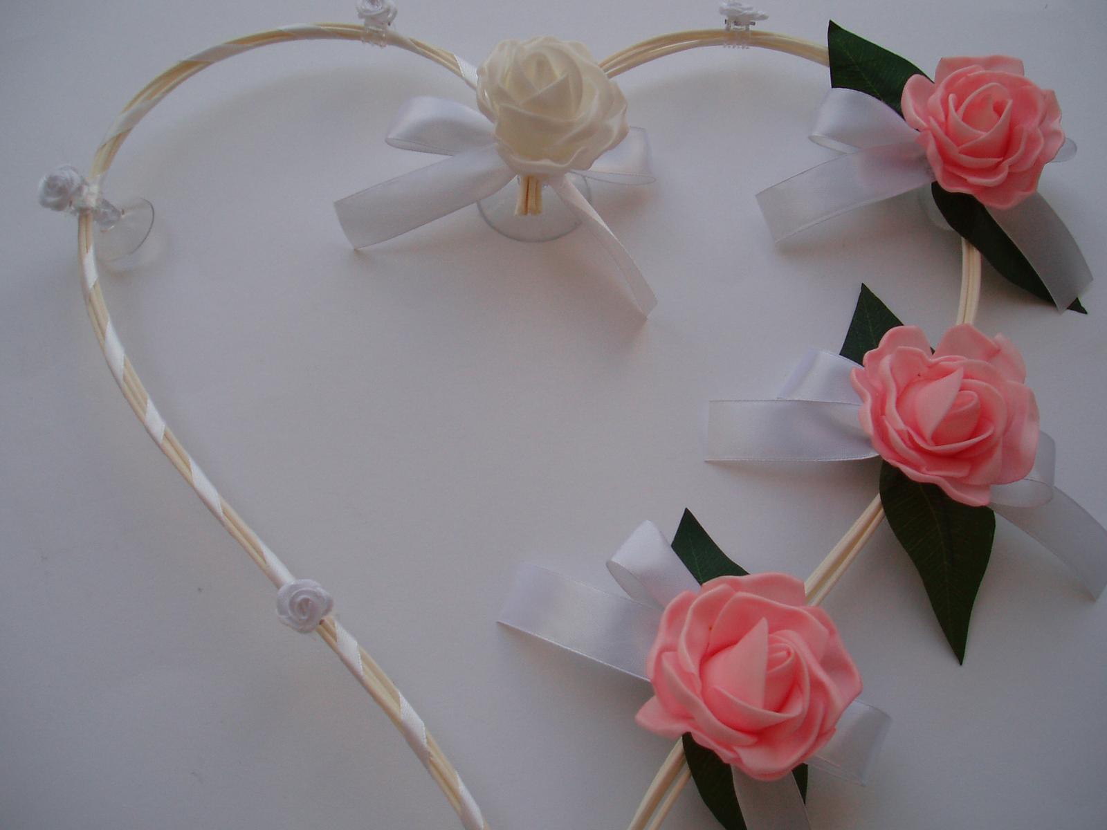 srdce z pedigu-růžové - Obrázek č. 4