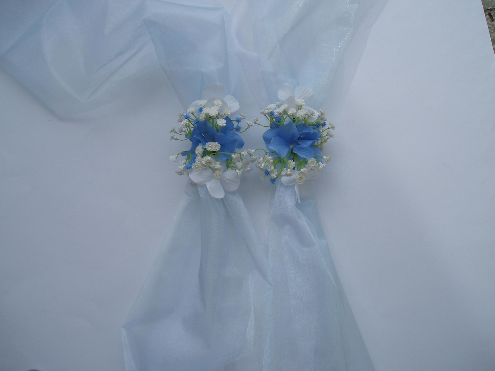 dvojšerpa modro-bílá - Obrázek č. 1
