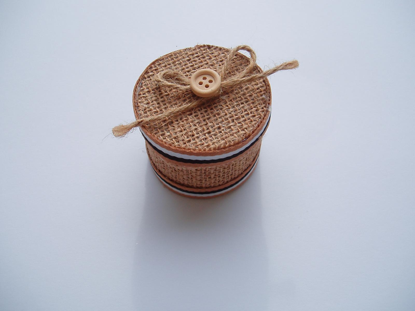 jutová krabička - Obrázek č. 2