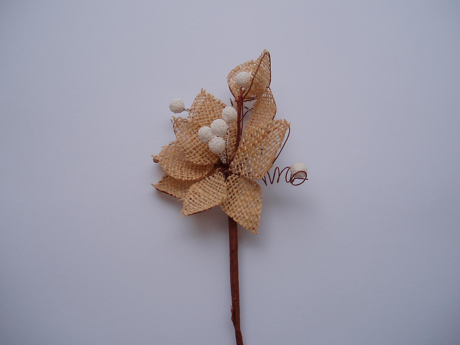jutová květina - Obrázek č. 3