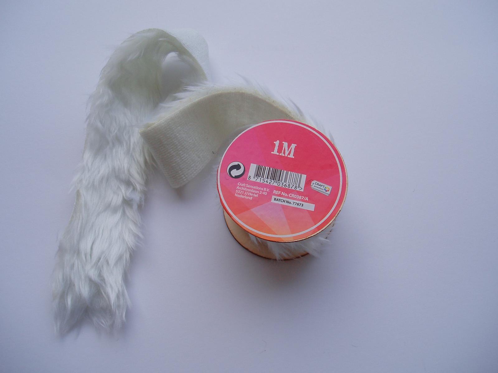 dekorativní pás z kožešiny - Obrázek č. 1