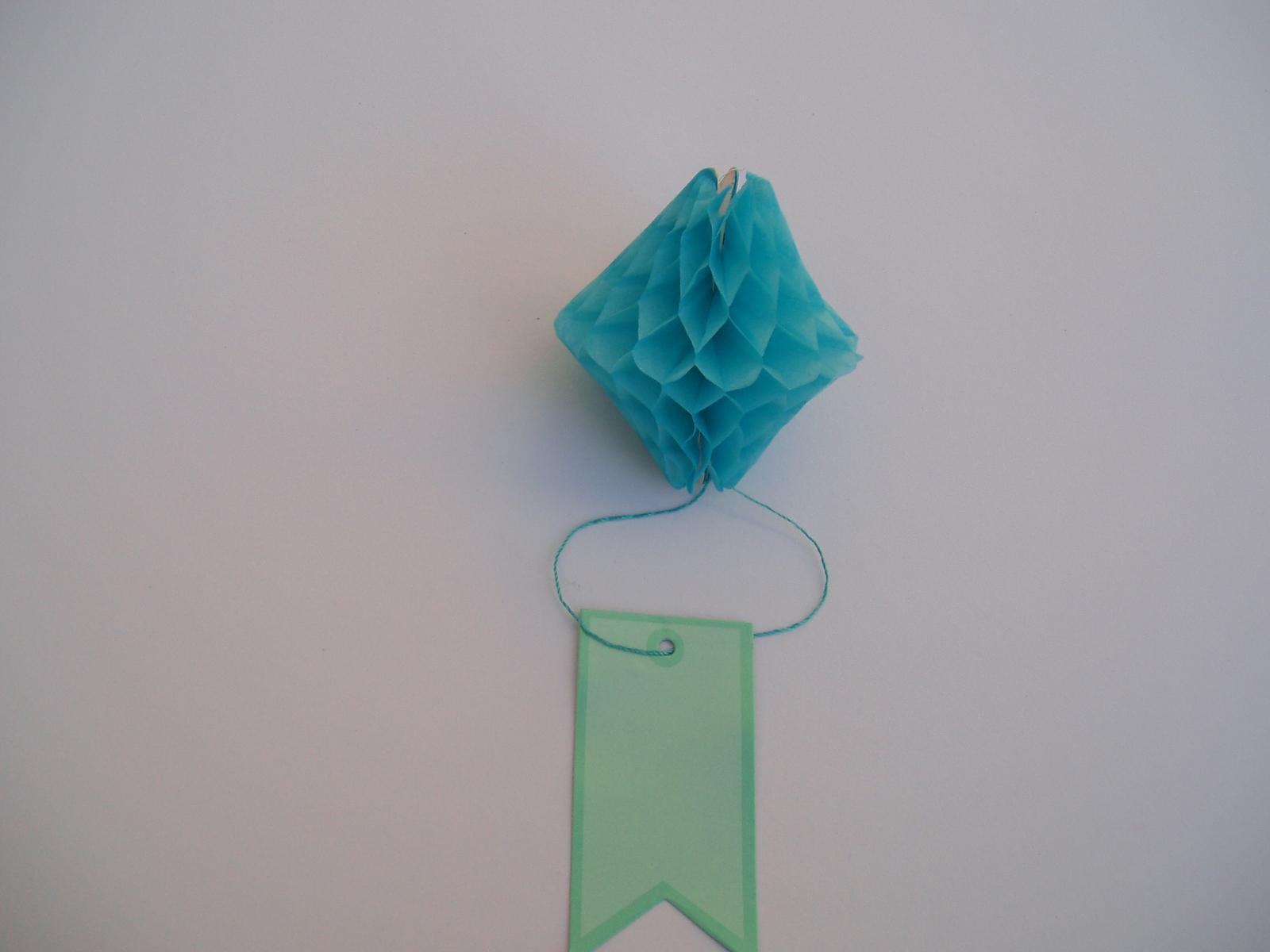honeycomb se štítkem-tyrkysový - Obrázek č. 1