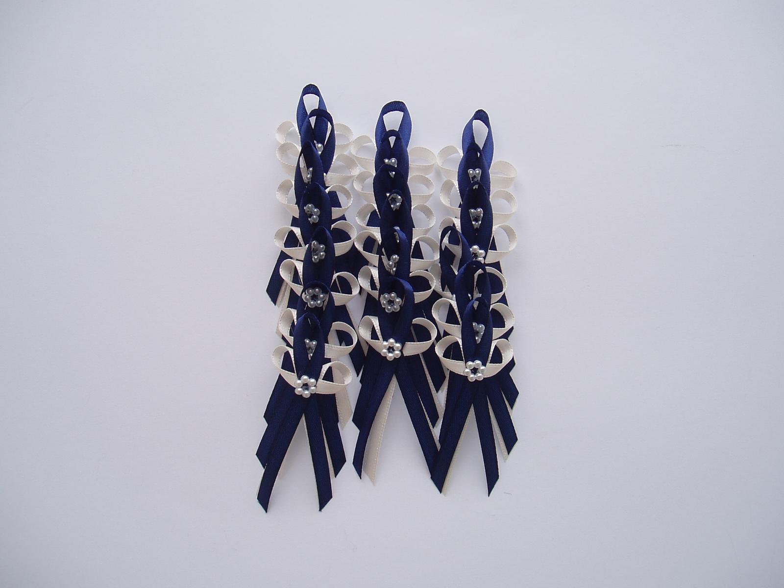 vývazek modrý navy - Obrázek č. 1