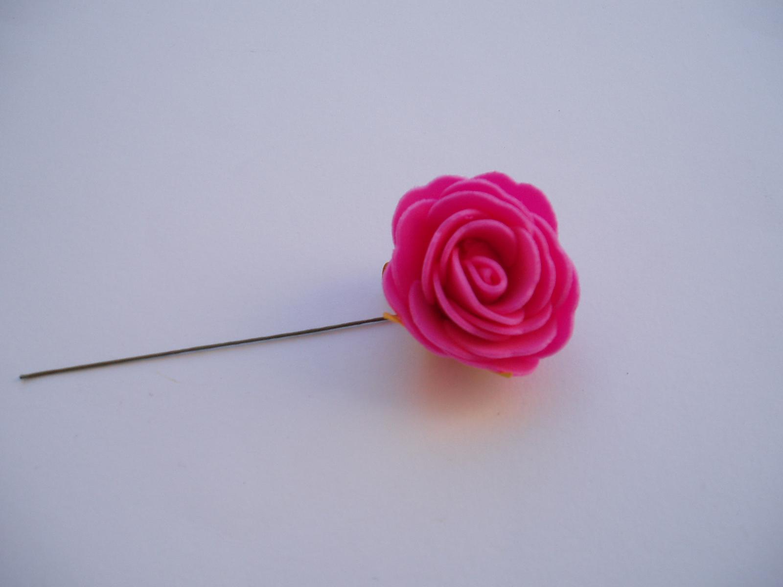 pěnová růže 4 cm - Obrázek č. 2