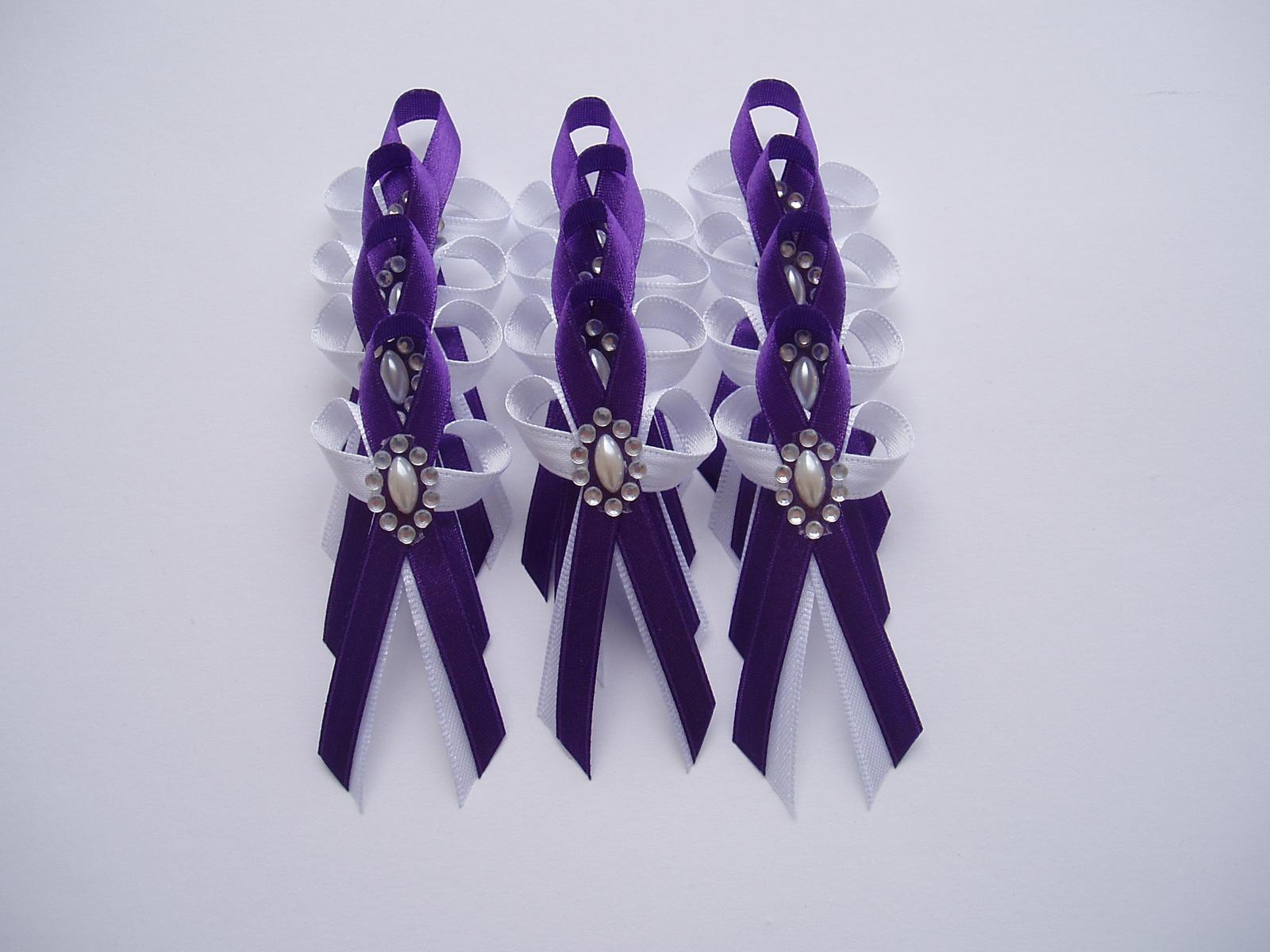 vývazek-tmavě fialový - Obrázek č. 1