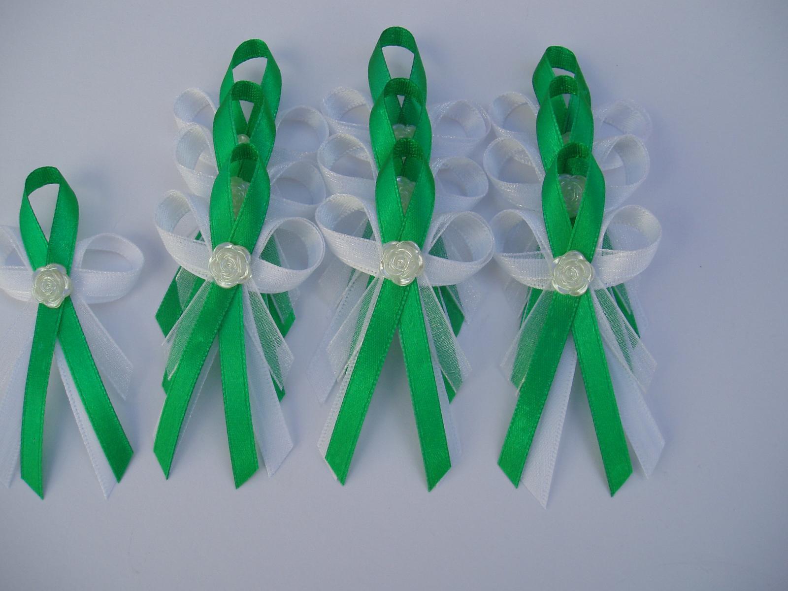 vývazek -zelený - Obrázek č. 1