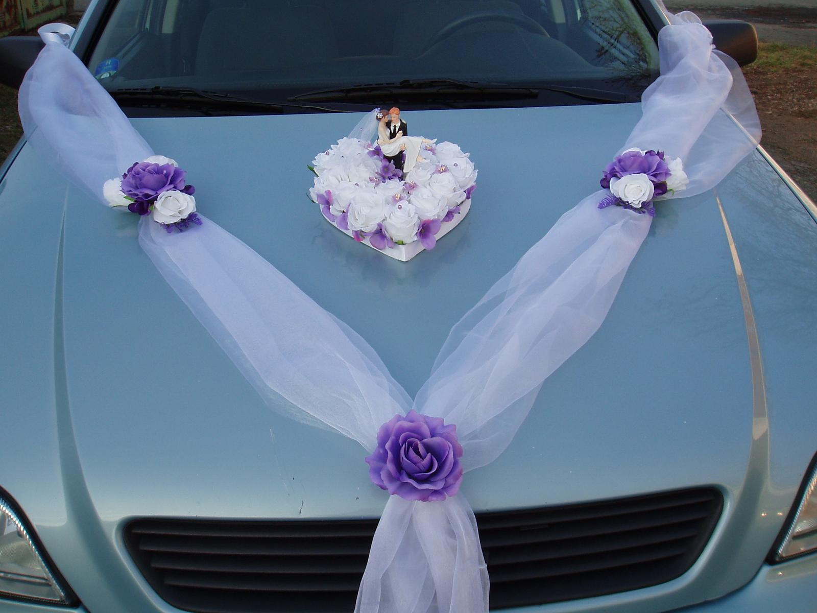 set na auto-fialový - Obrázek č. 1