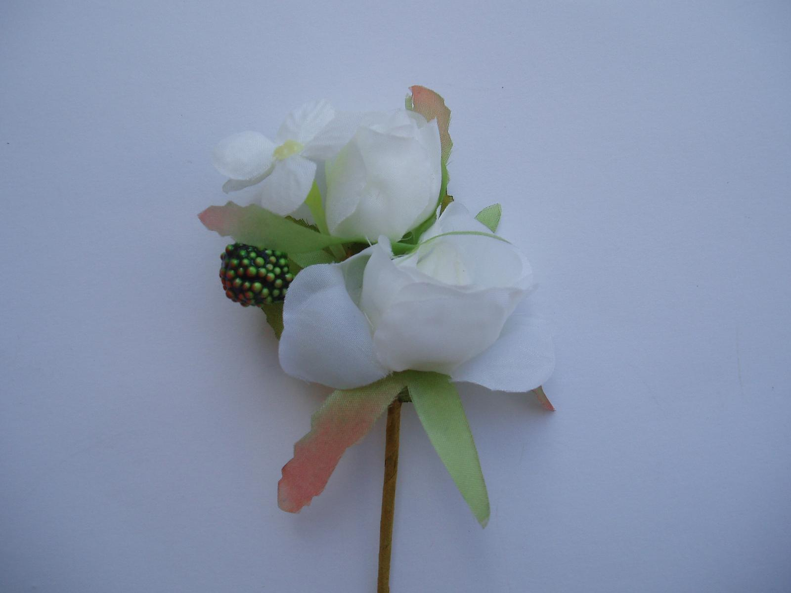 květinová korsáž - Obrázek č. 1