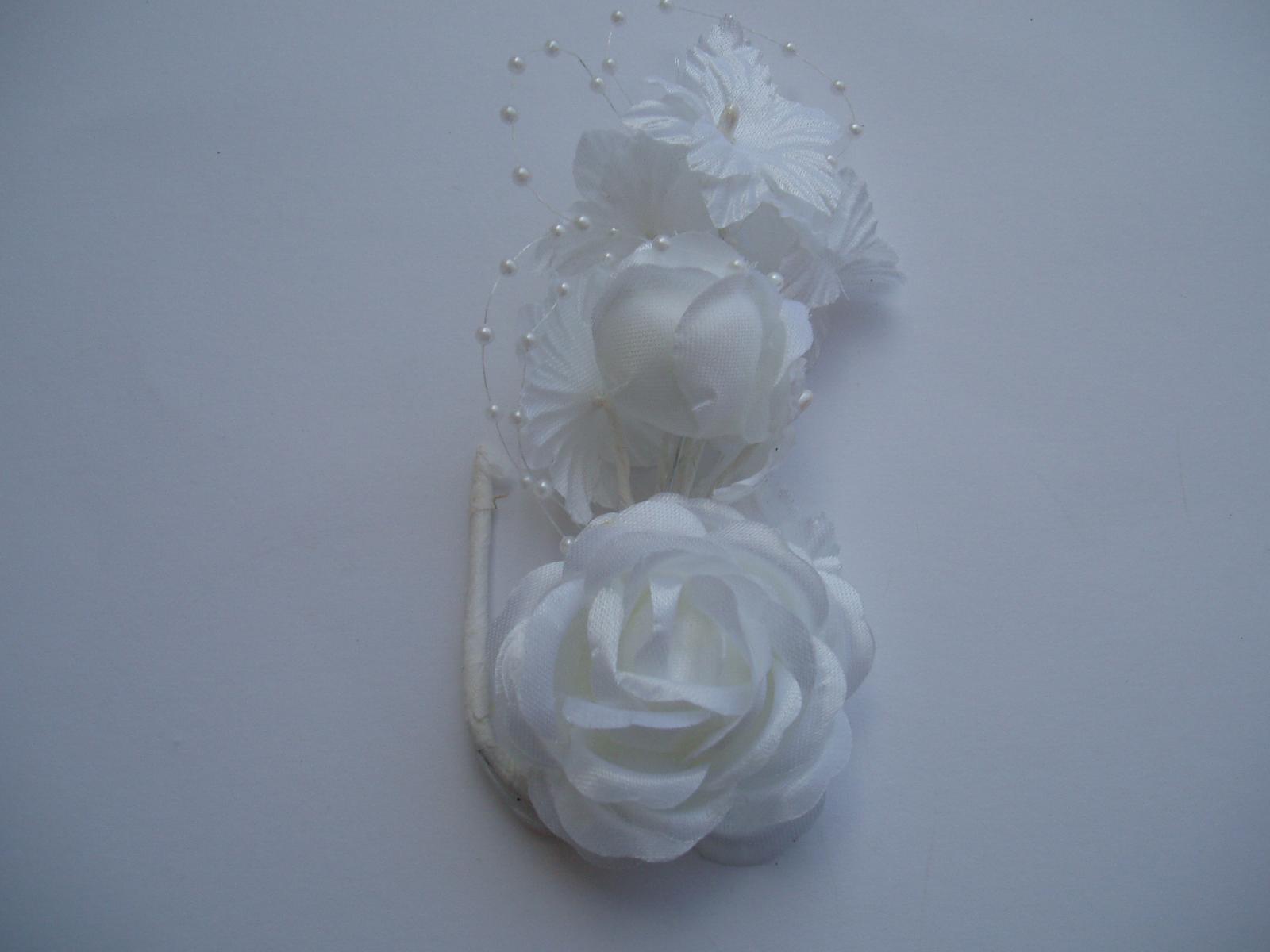 květina do vlasů - Obrázek č. 1