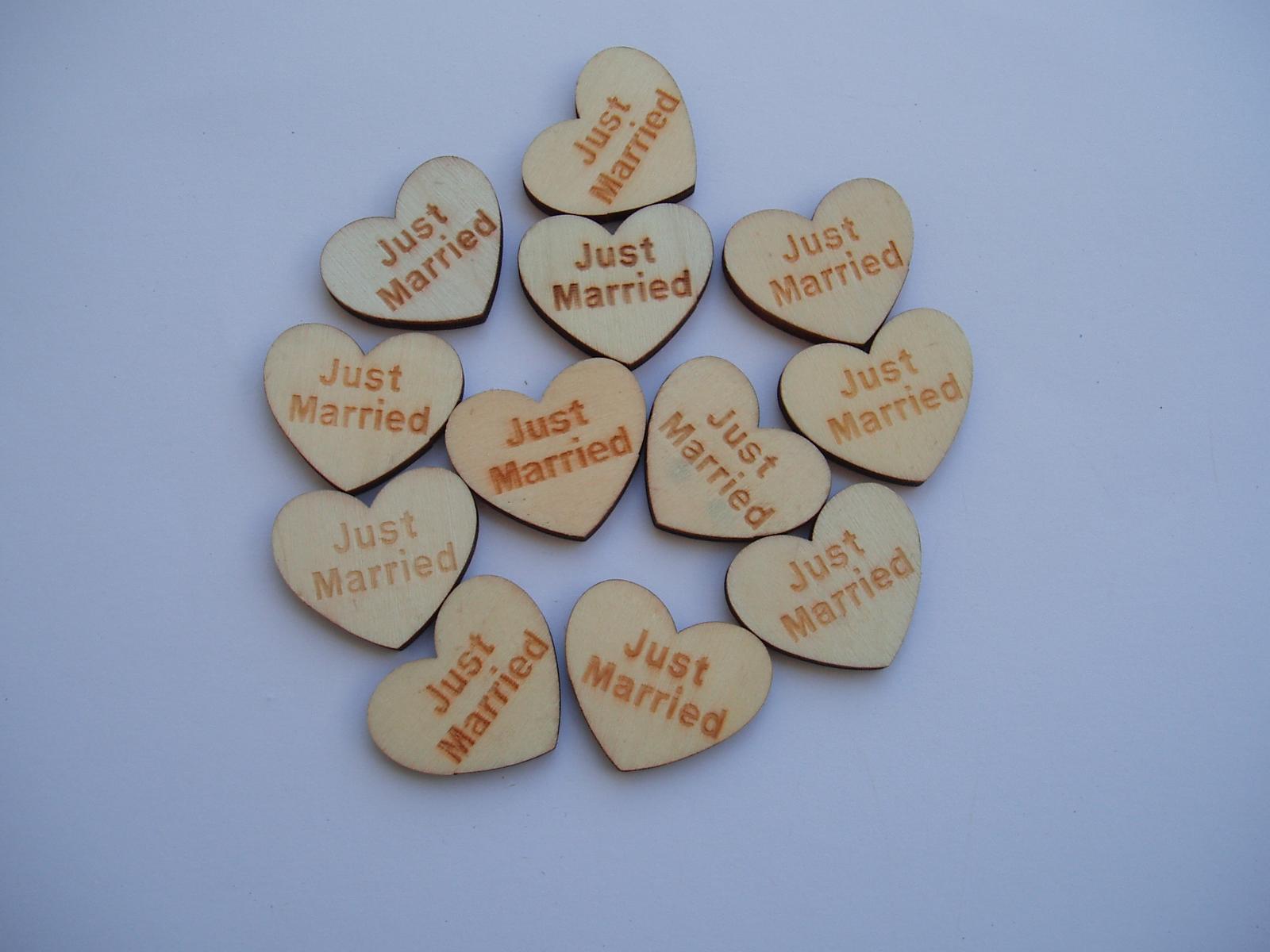 dřevěné srdíčko - Obrázek č. 1