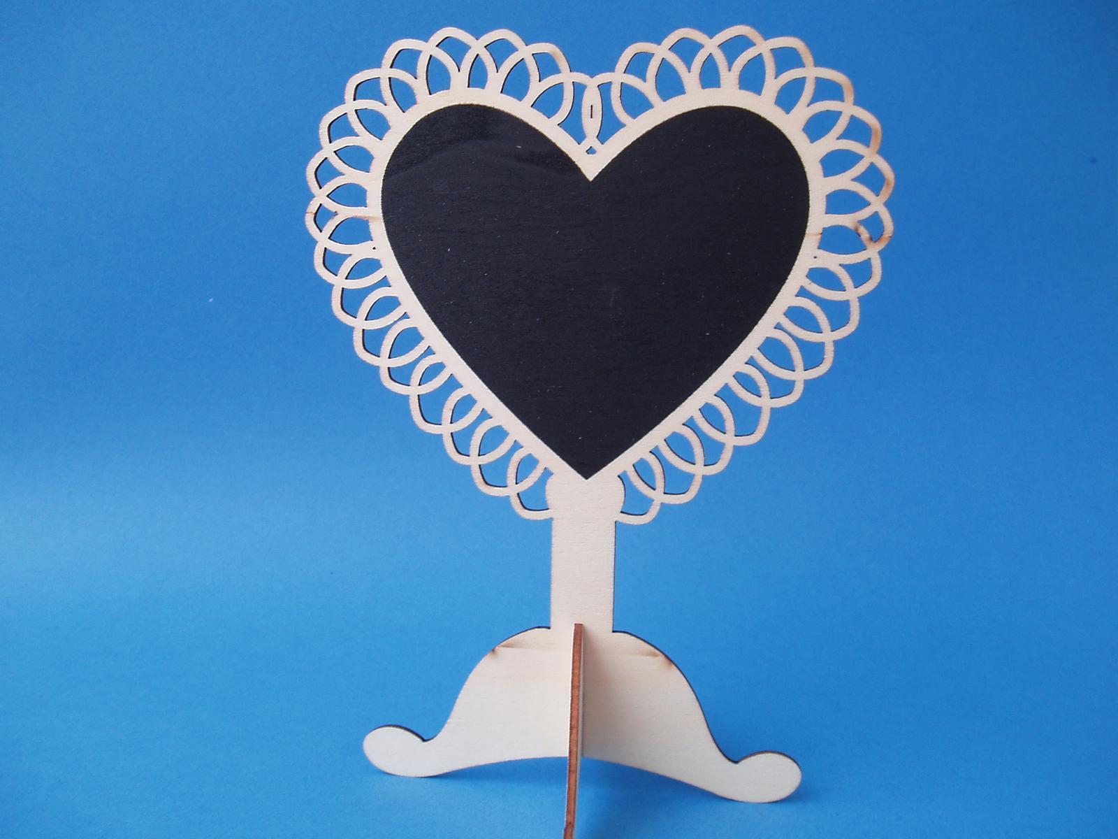 stojánek-tabule srdce - Obrázek č. 1