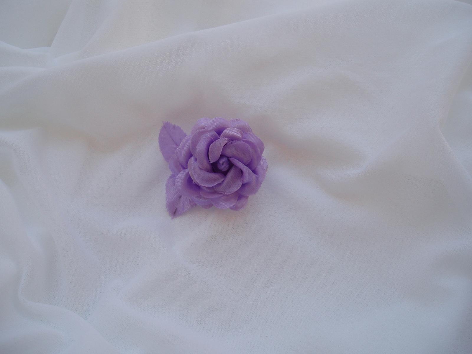 květ růže-fialový - Obrázek č. 1